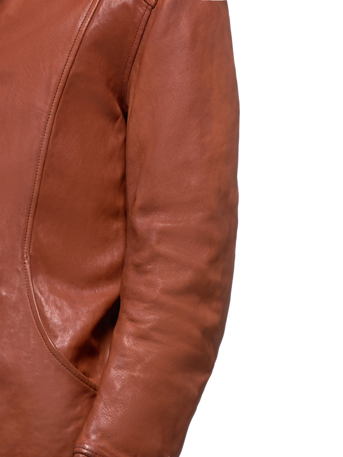 Guidi Leather Jacket | H.Lorenzo Detail 2