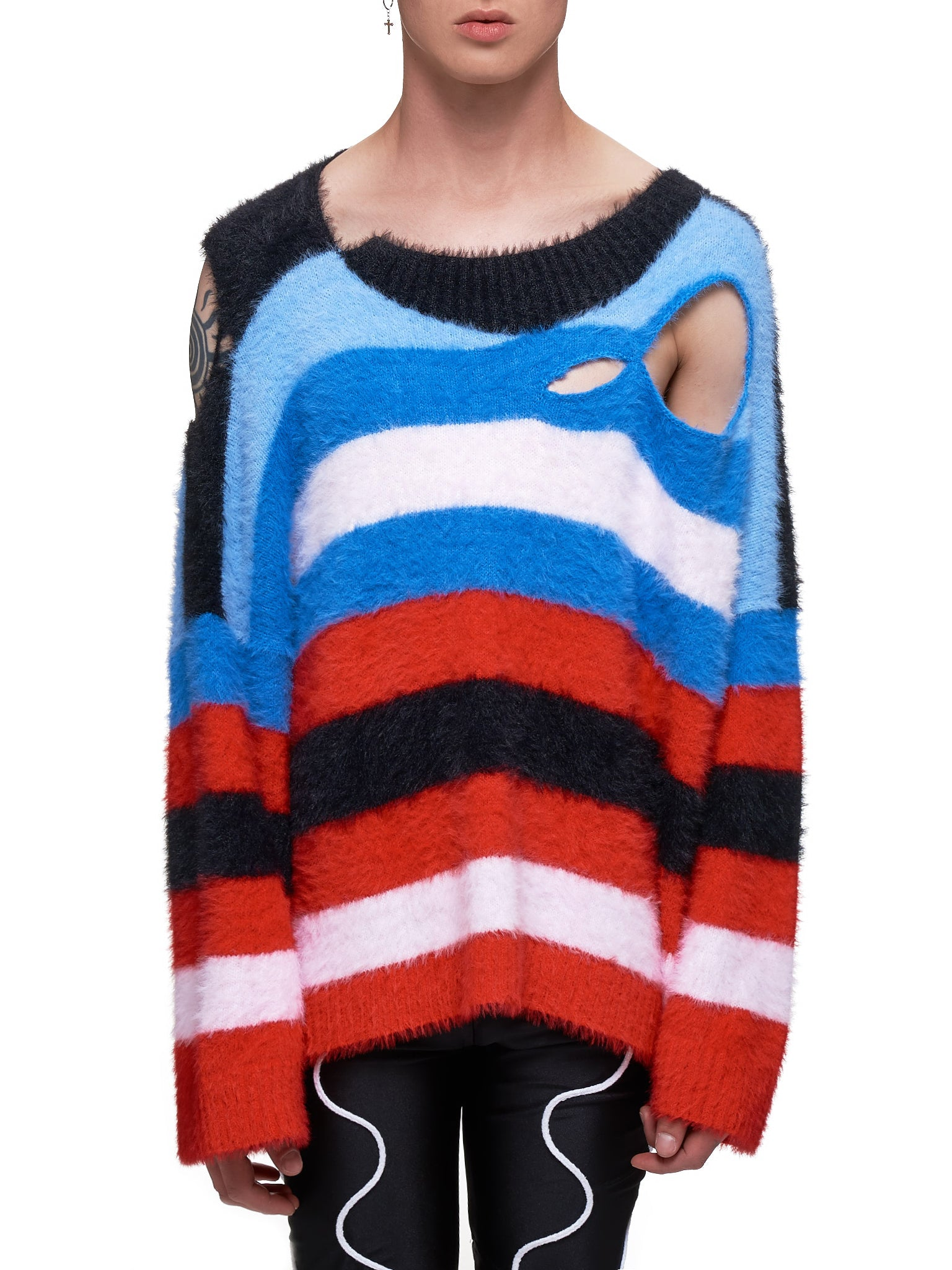 Charles Jeffrey Loverboy Sweater - Hlorenzo Front