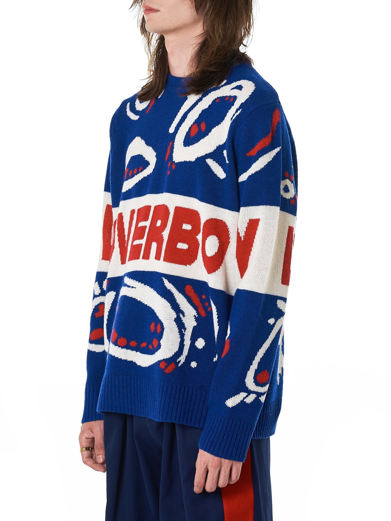 Charles Jeffrey Loverboy Sweater - Hlorenzo Side