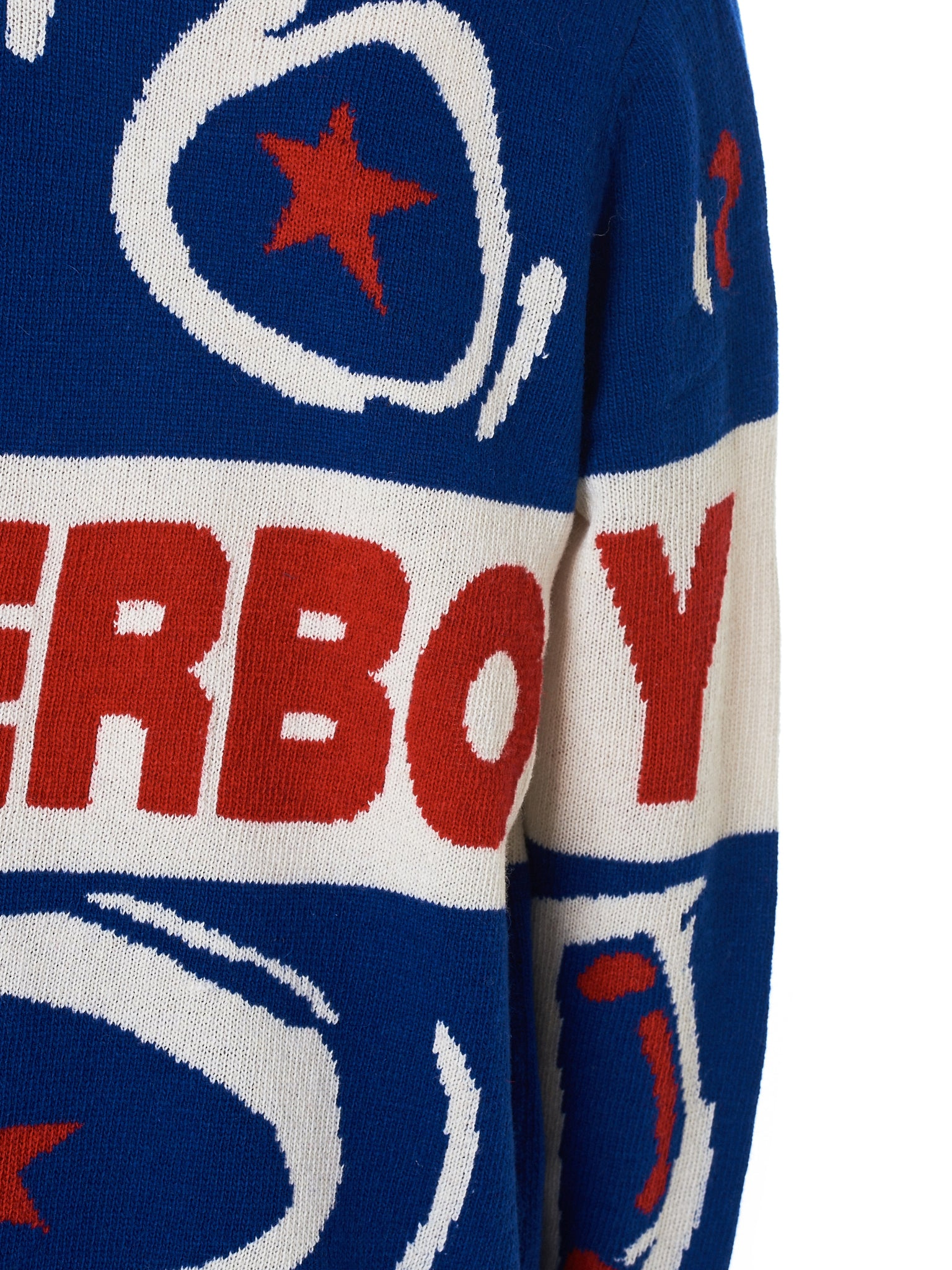 Charles Jeffrey Loverboy Sweater - Hlorenzo Detail 3
