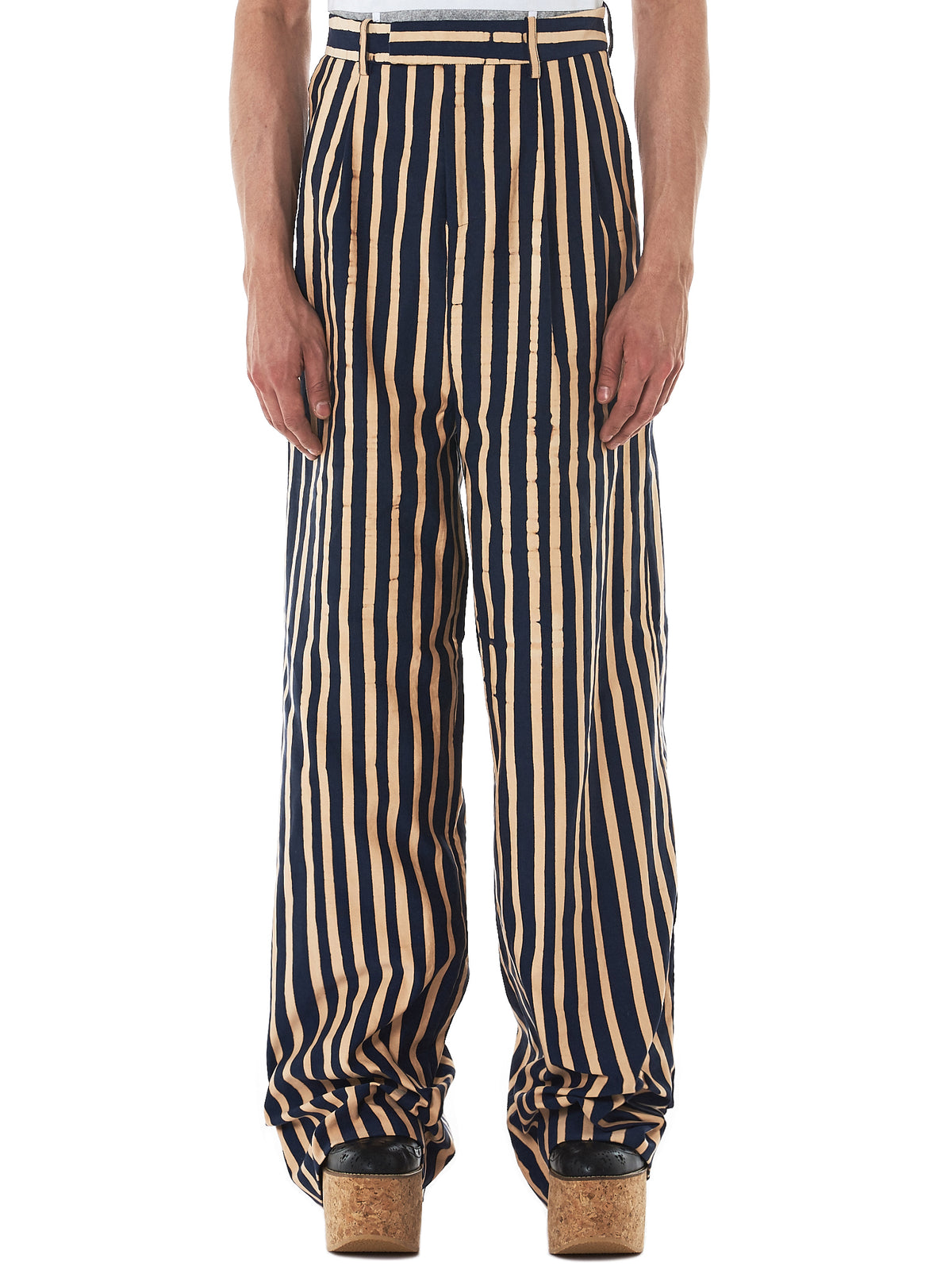 Charles Jeffrey Loverboy High-Waisted Trousers -HLorenzo front