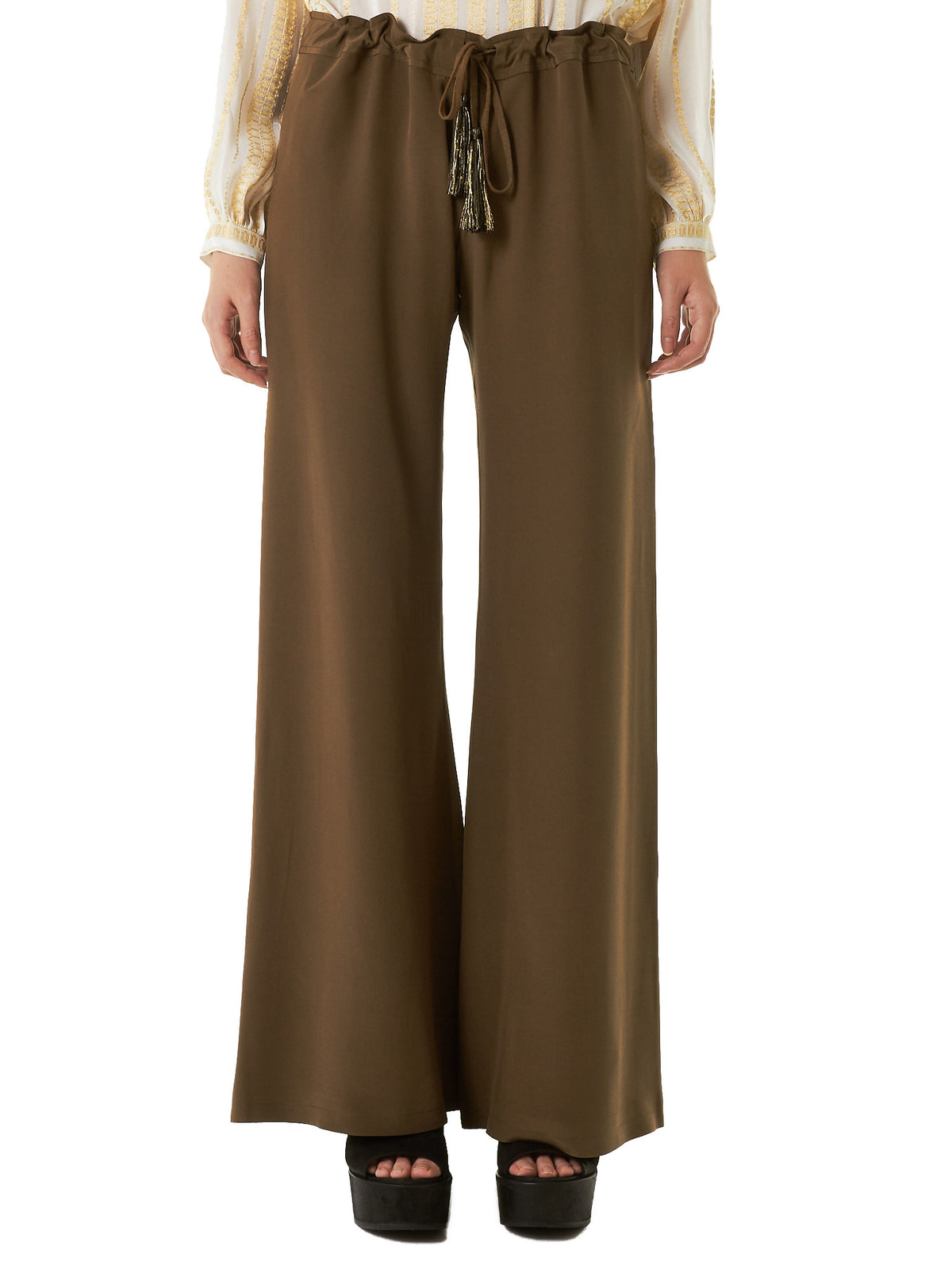 Silk Trousers (CLTR098-ALCESTES-011)