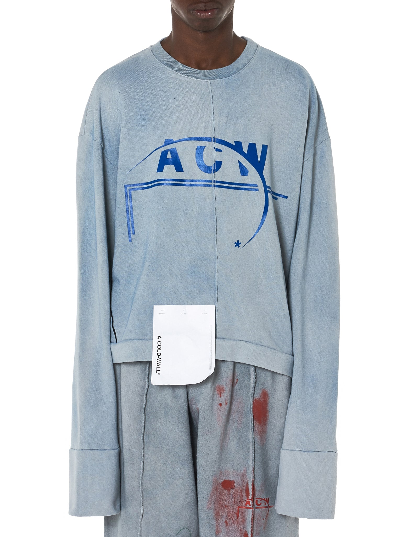 A Cold Wall ACW Sweater - Hlorenzo Front