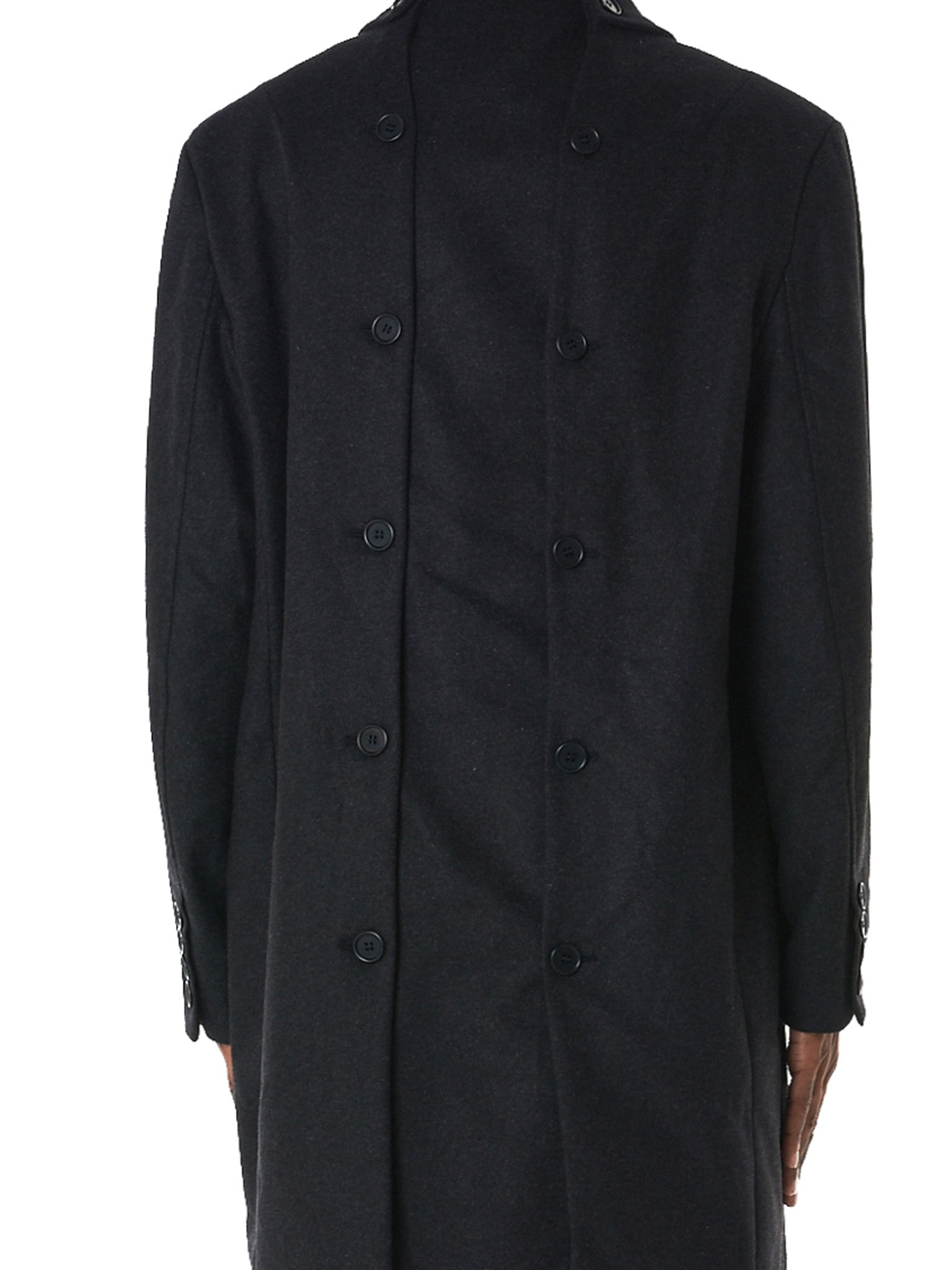 Double-Breasted Coat (CO01-DARK-GREY)