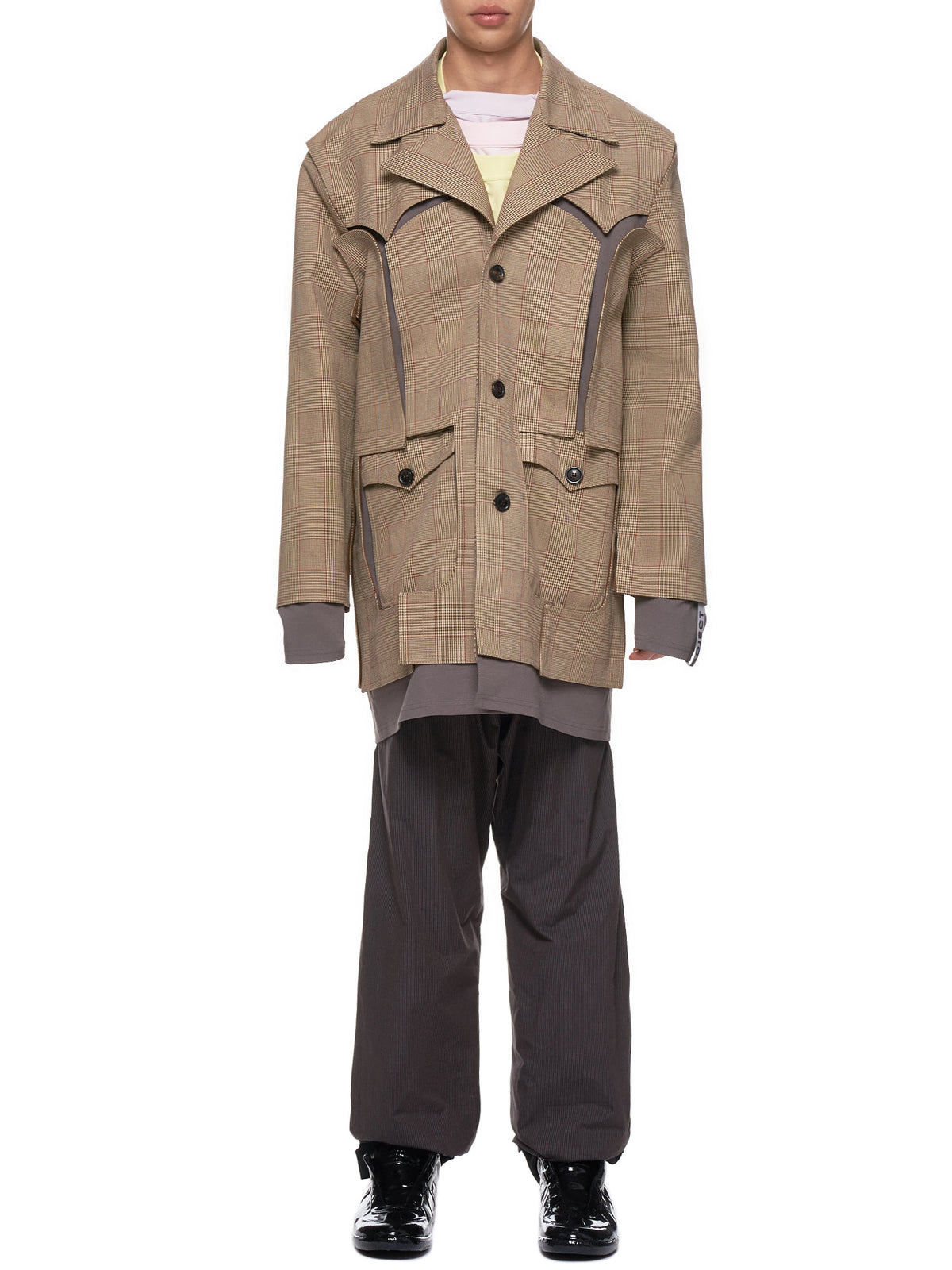 Cut-Out Coat (COAT19-S16-F156-CAMEL)