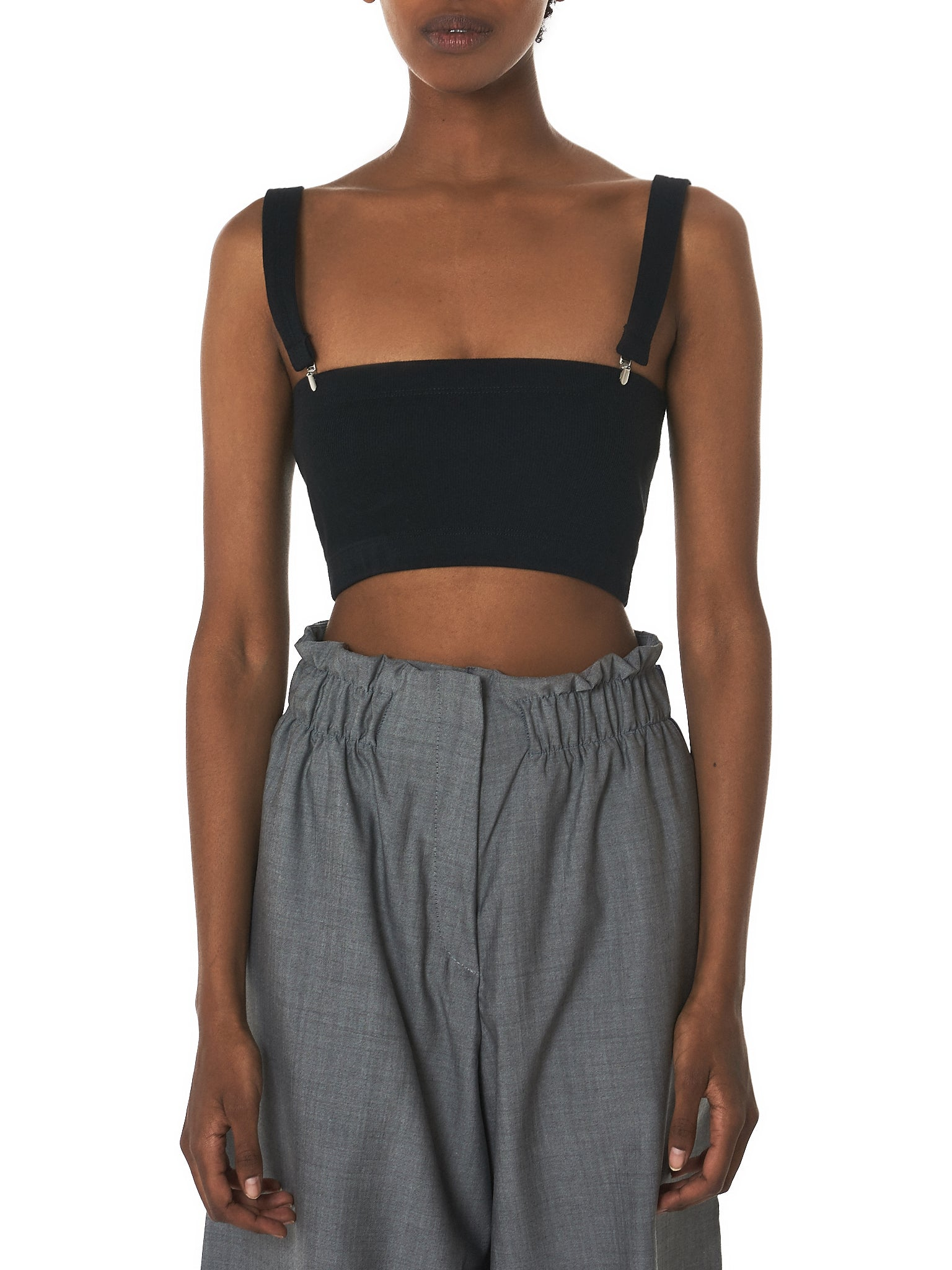 Marie Yat Cropped Top - Hlorenzo Front