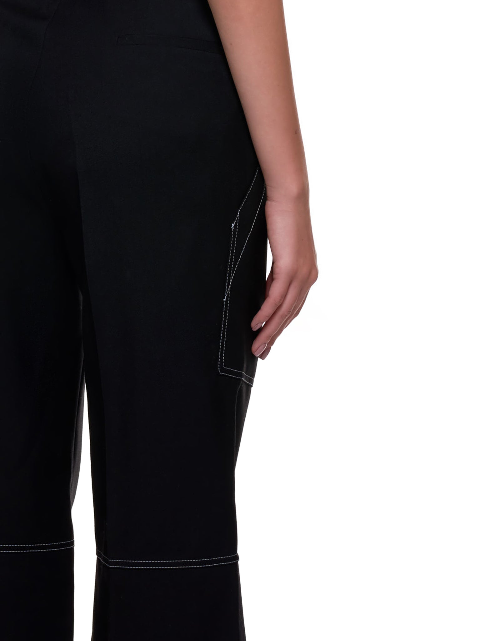 Panel Pocket Trousers (CPA005WV0285-BLACK)