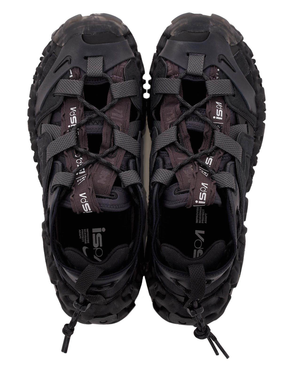 Overreact Sandal ISPA (CQ2230-001-BLACK-THUNDER-GREY)