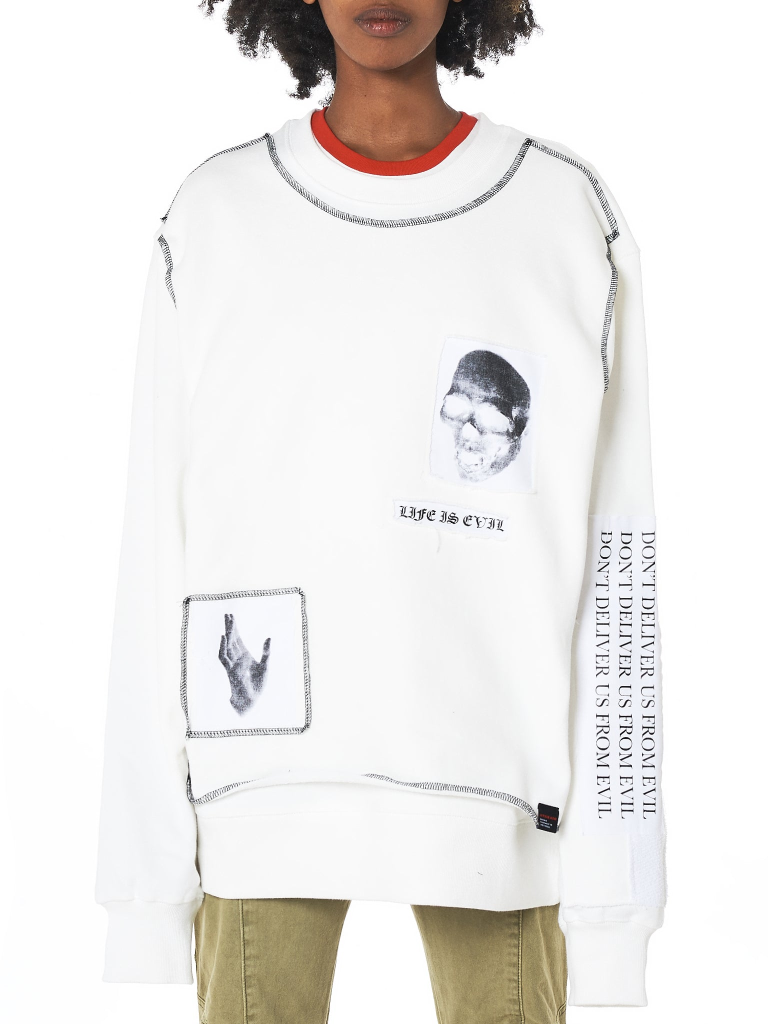 Hyein Seo Graphic Pullover - Hlorenzo Front