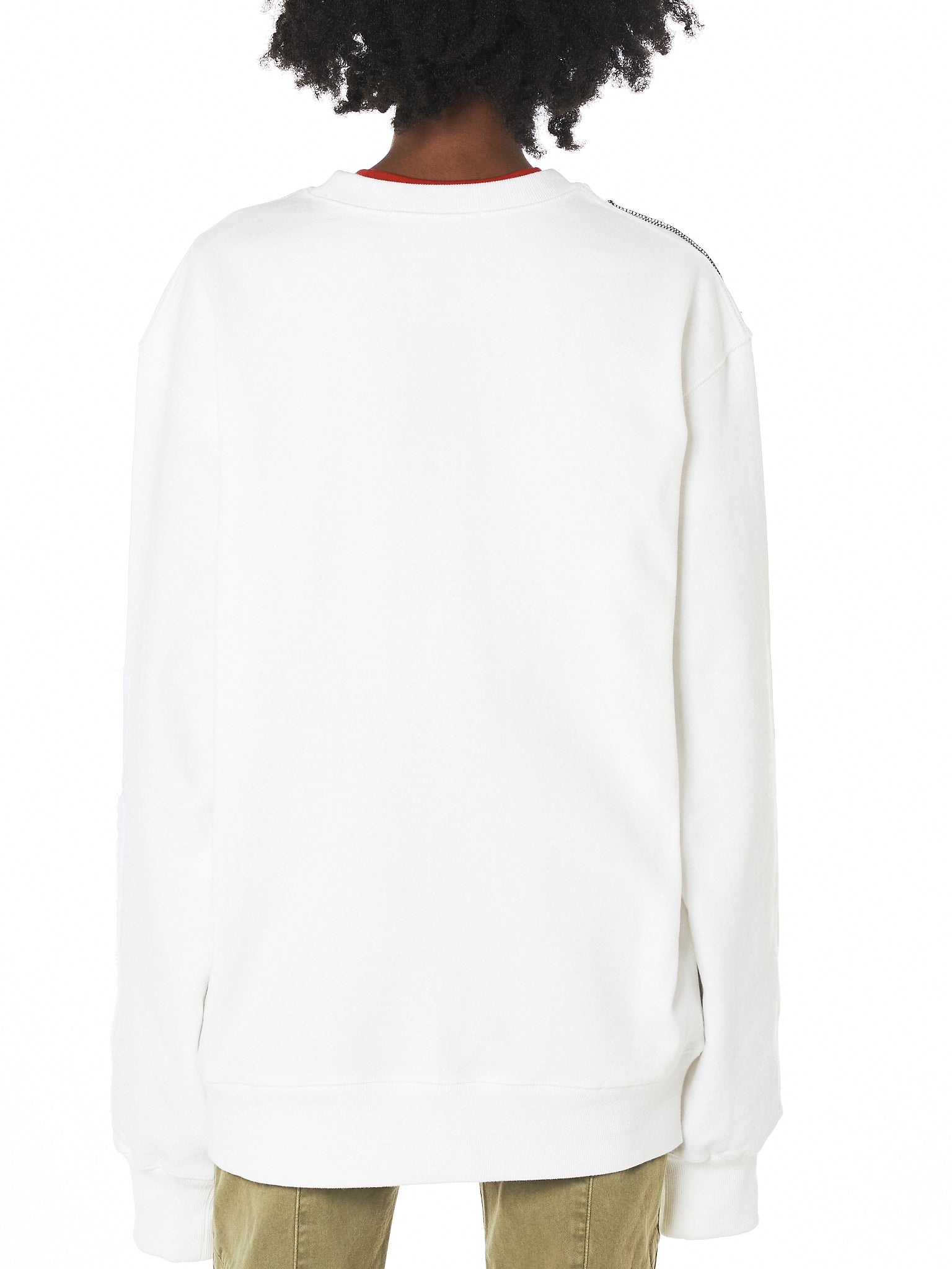 Hyein Seo Graphic Pullover - Hlorenzo Back
