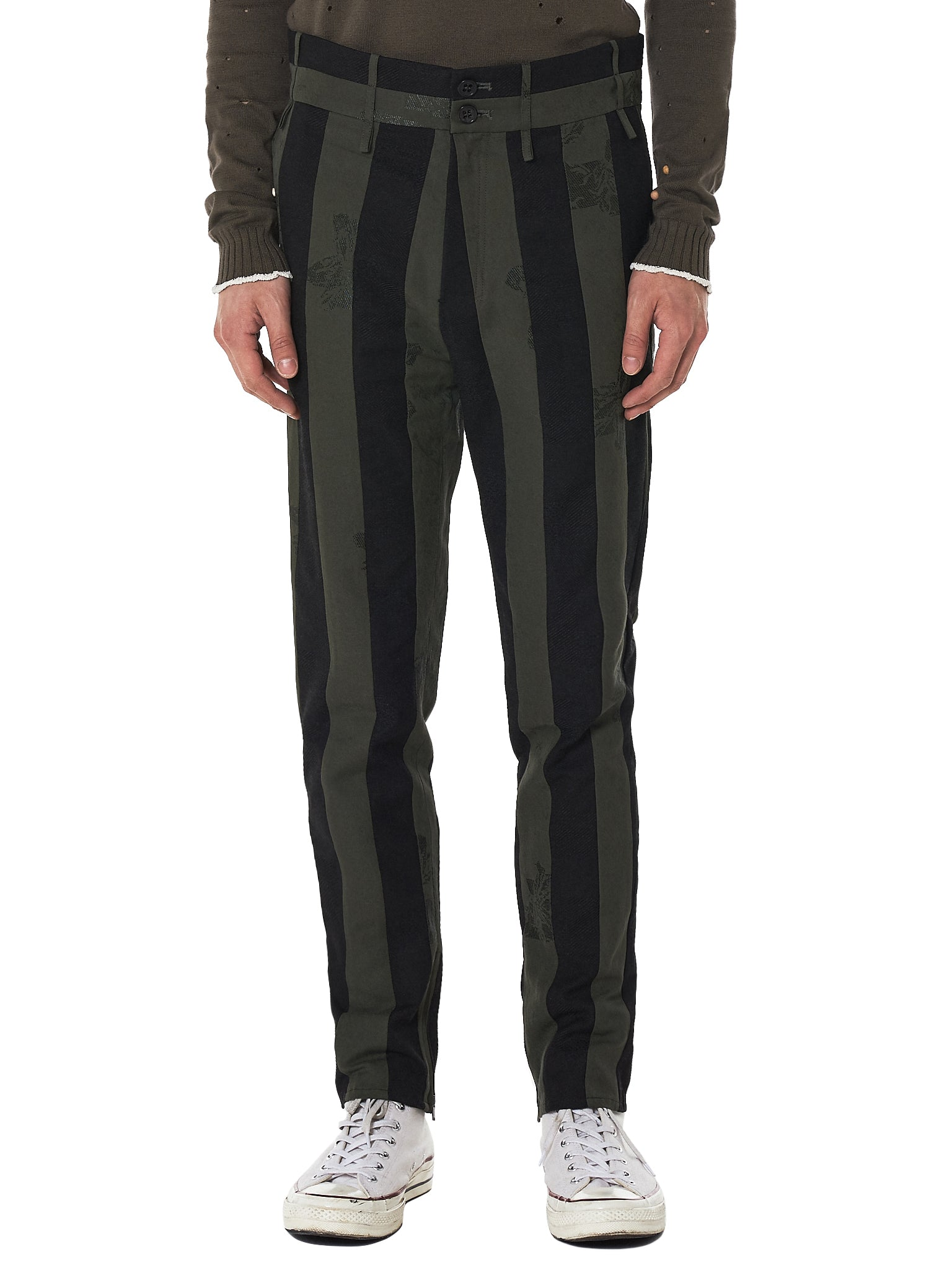 damir doma striped trouser - H.Lorenzo Front