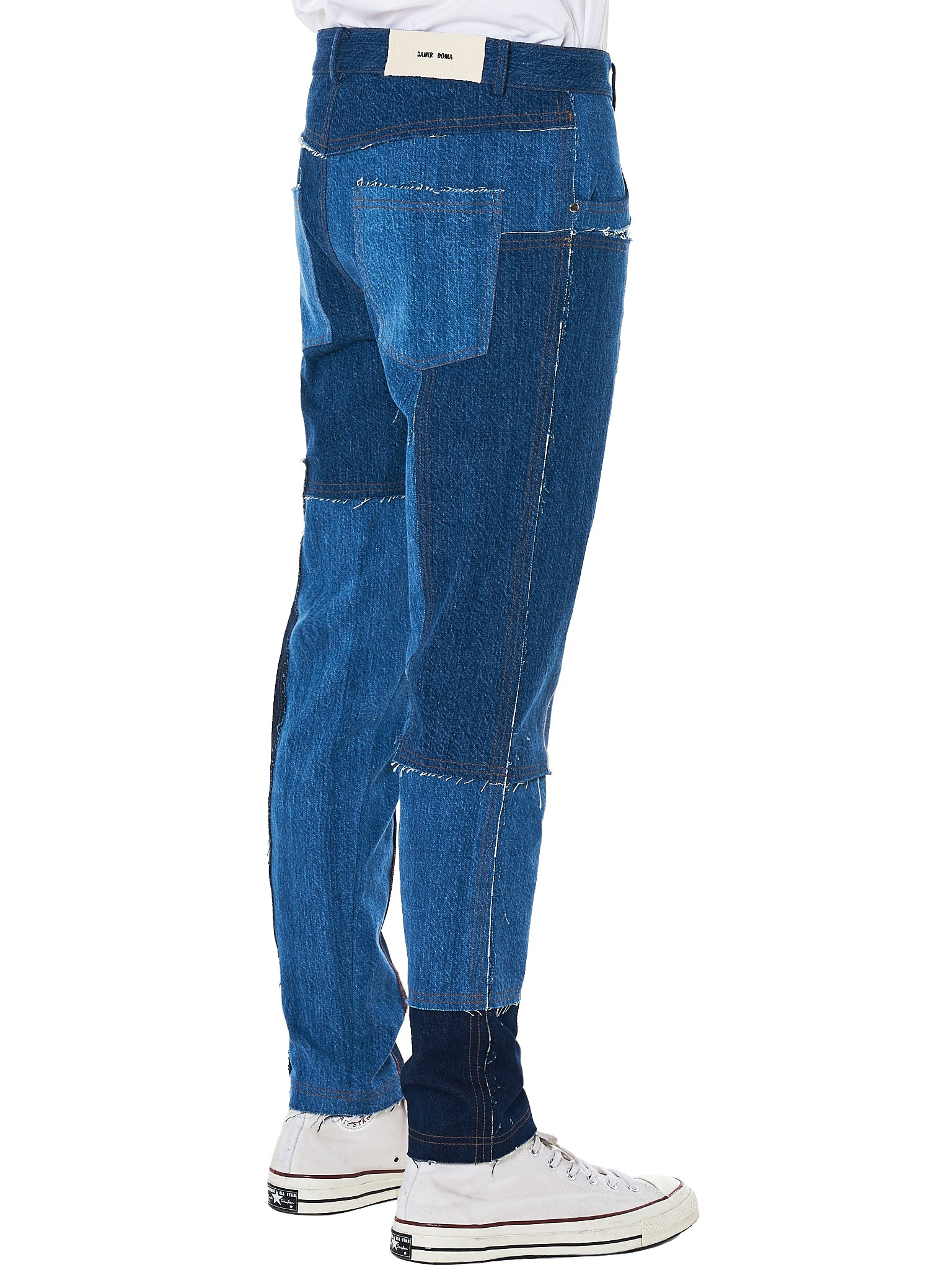 Damir doma patchwork denim - H.Lorenzo side