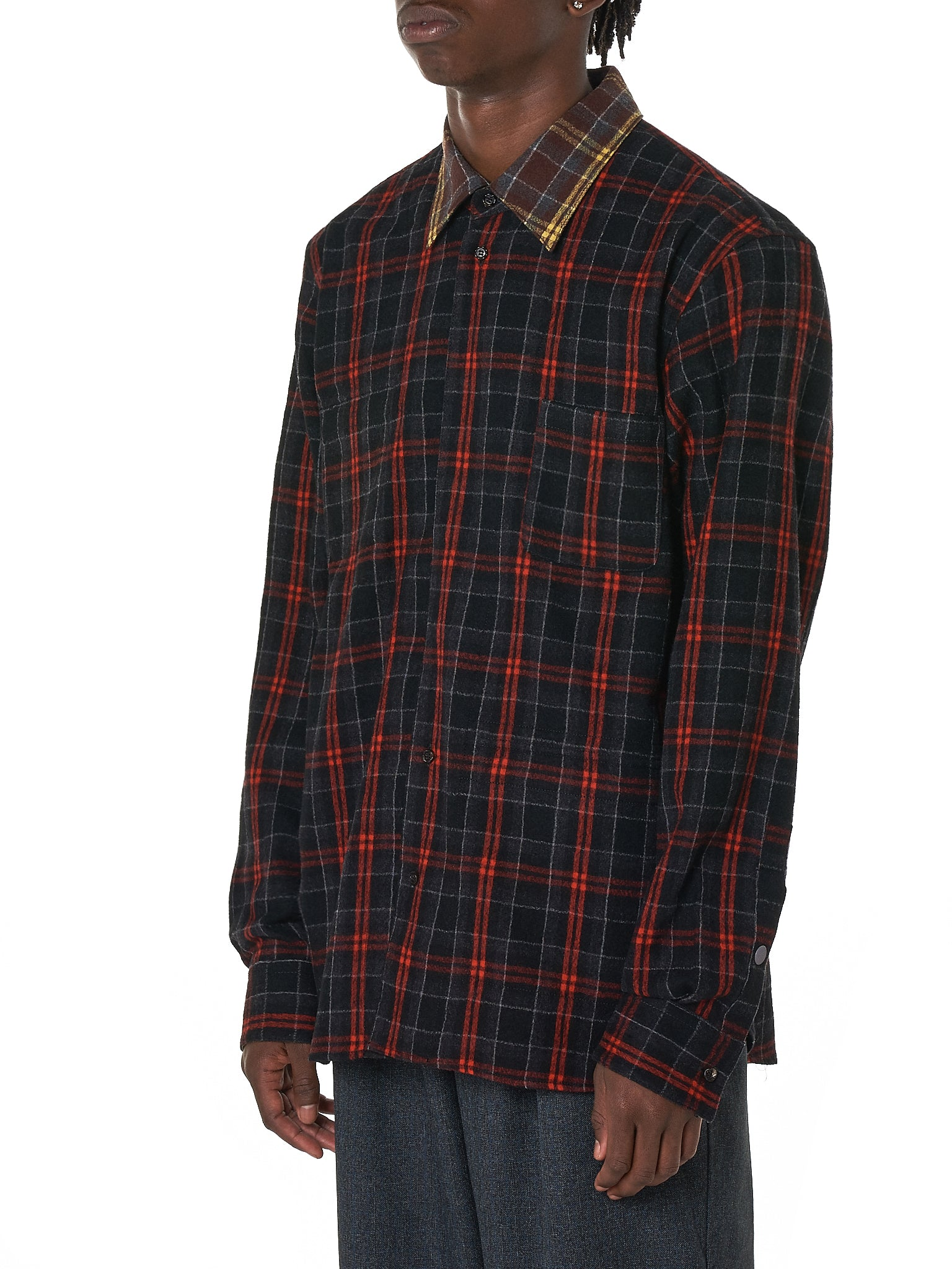 Marni Flannel Shirt - Hlorenzo Side
