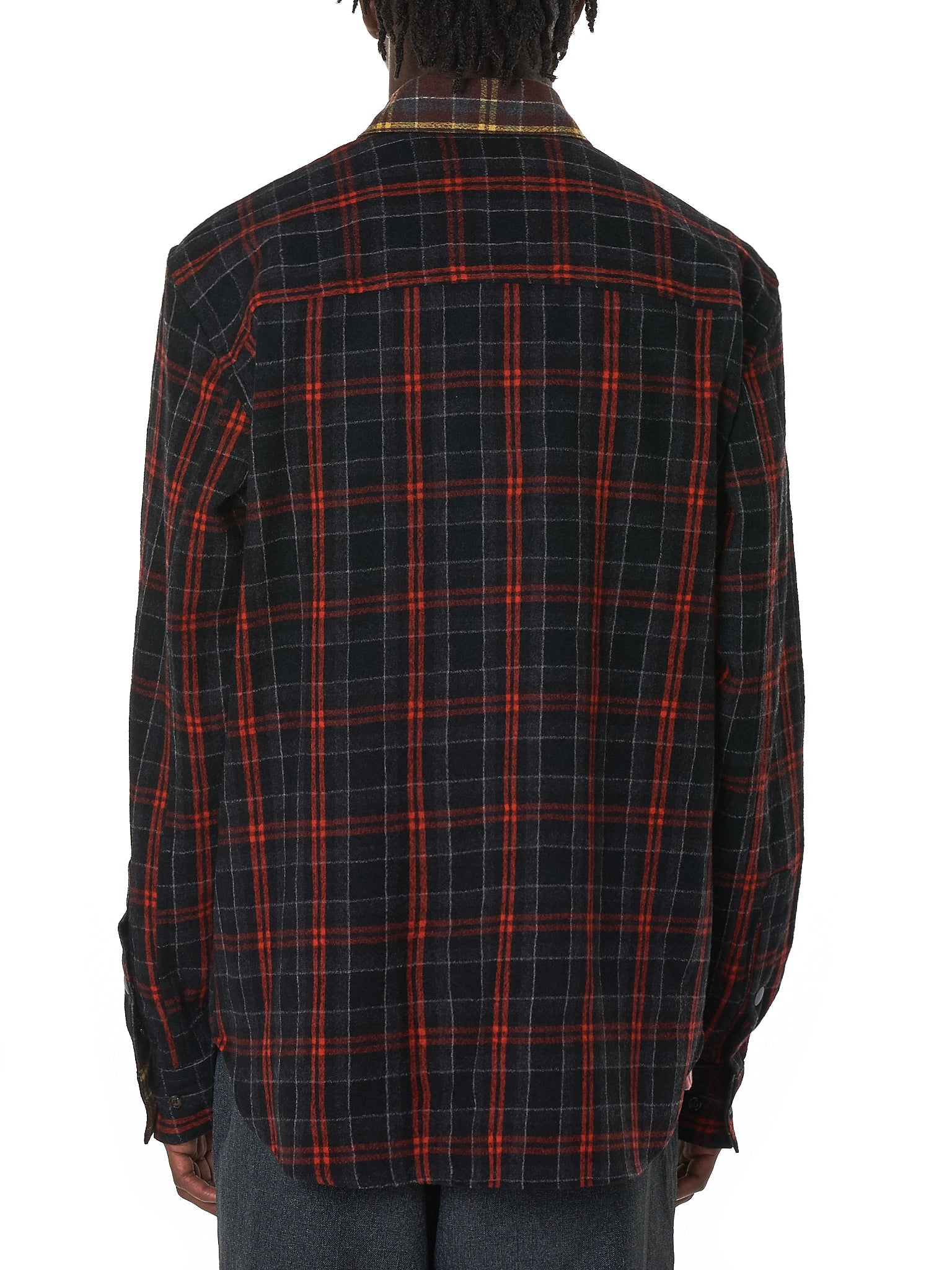 Marni Flannel Shirt - Hlorenzo Back
