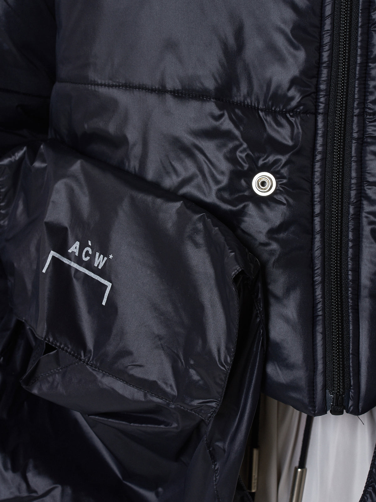 A Cold Wall Puffer Jacket - Hlorenzo Detail 2