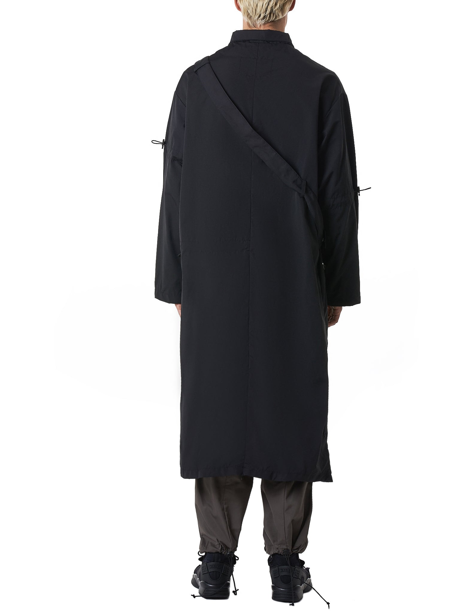 A Cold Wall Black Coat - Hlorenzo Back