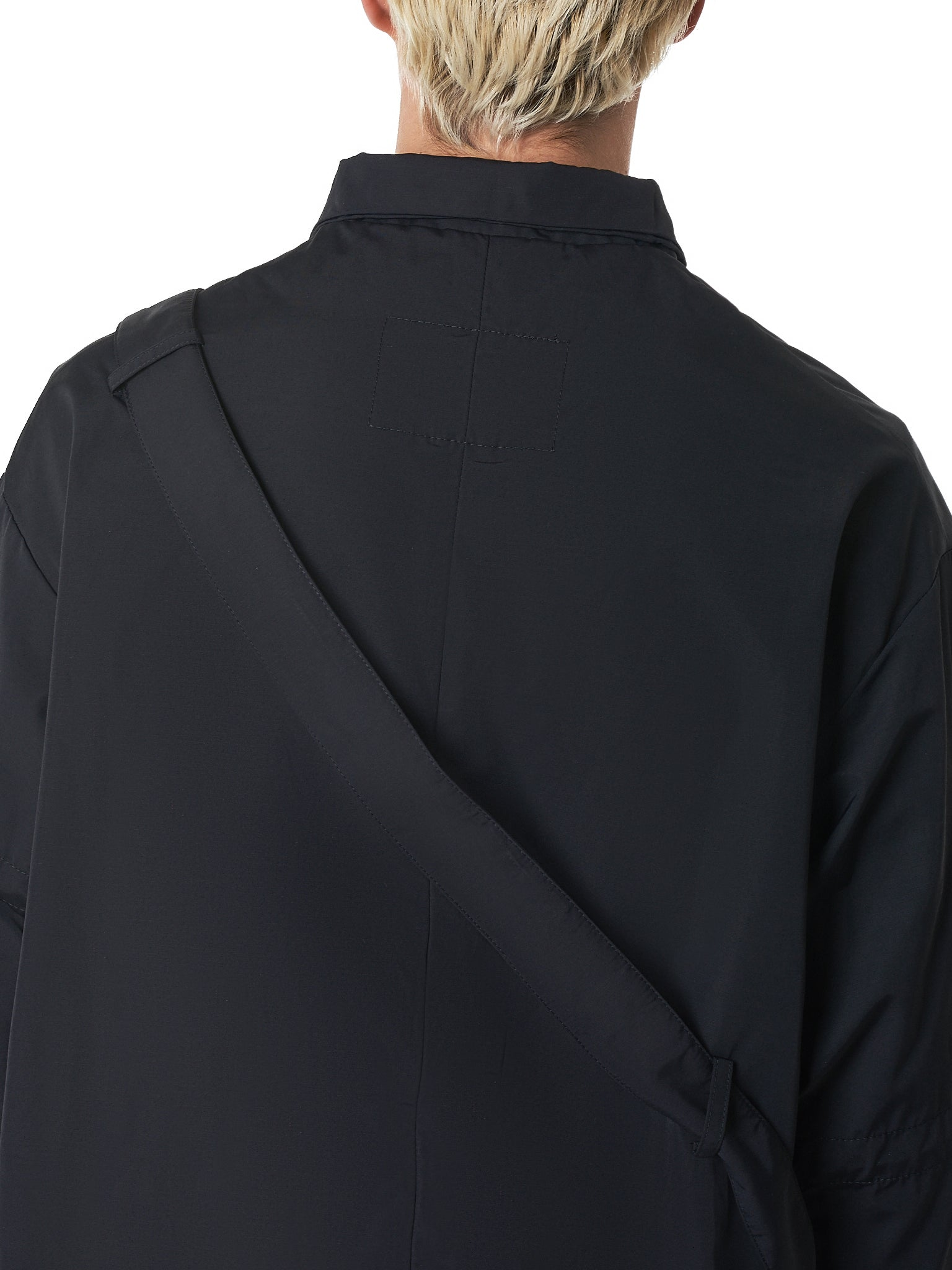 A Cold Wall Black Coat - Hlorenzo Detail 1