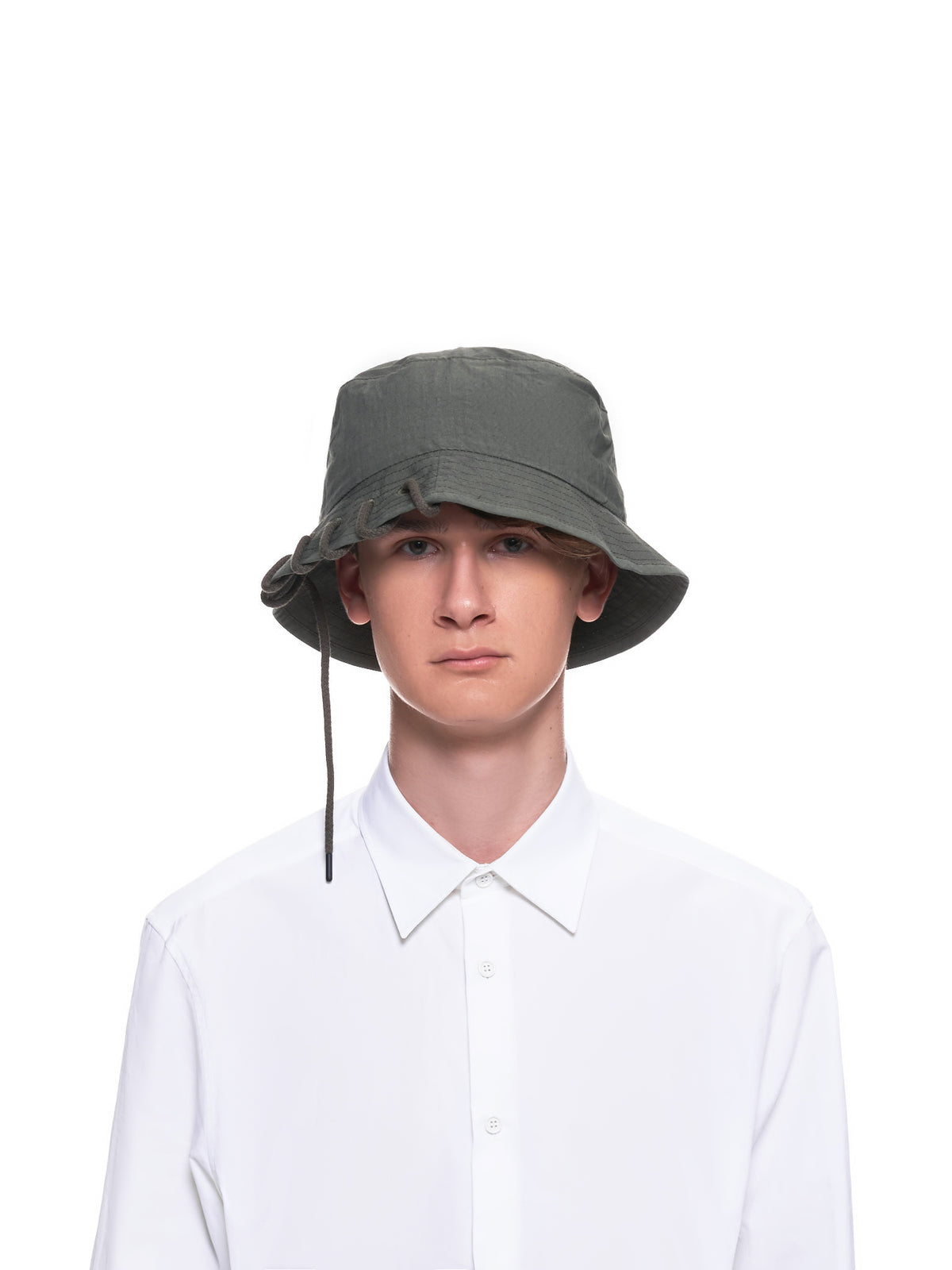 Laced Bucket Hat (CWOHAT01-OLIVE)