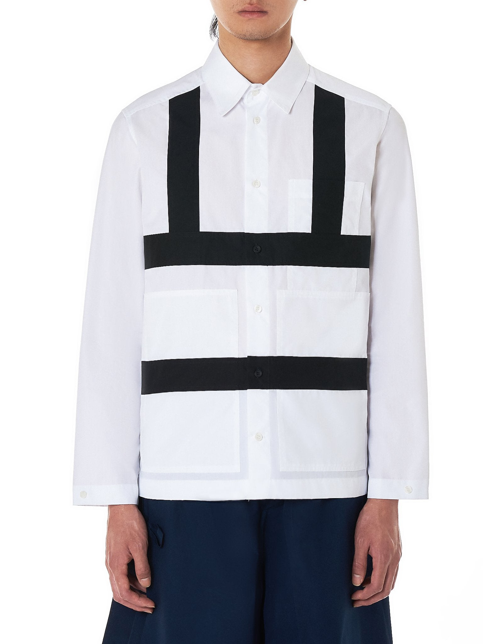 Craig Green Harness Shirt - Hlorenzo Front