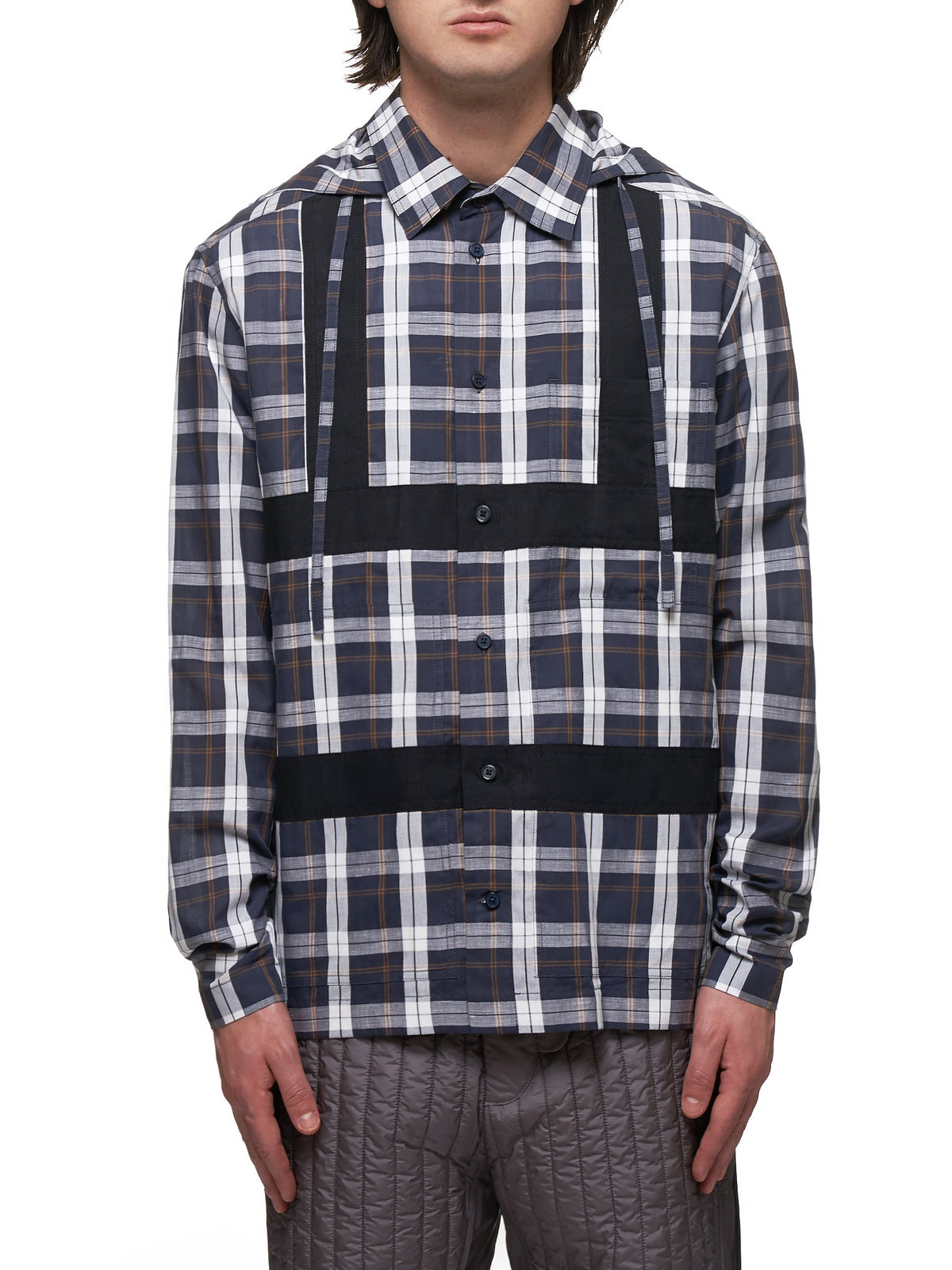 Craig Green Hooded Shirt - Hlorenzo Front