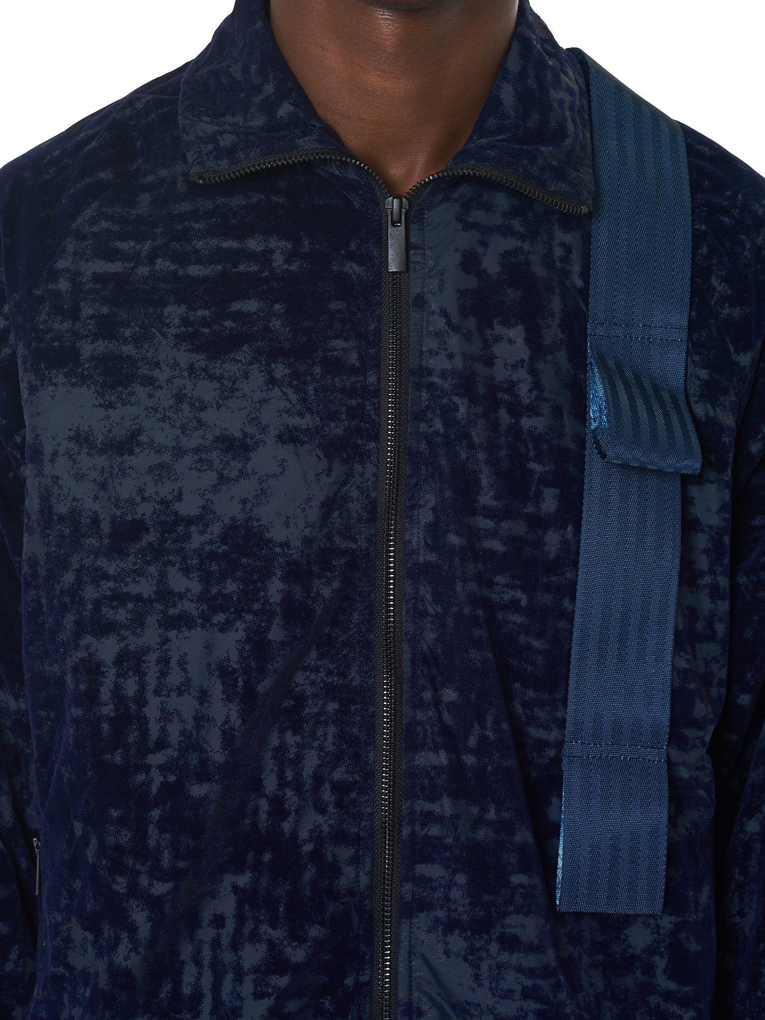 Harness Track Jacket (CWTT-19-NAVY)