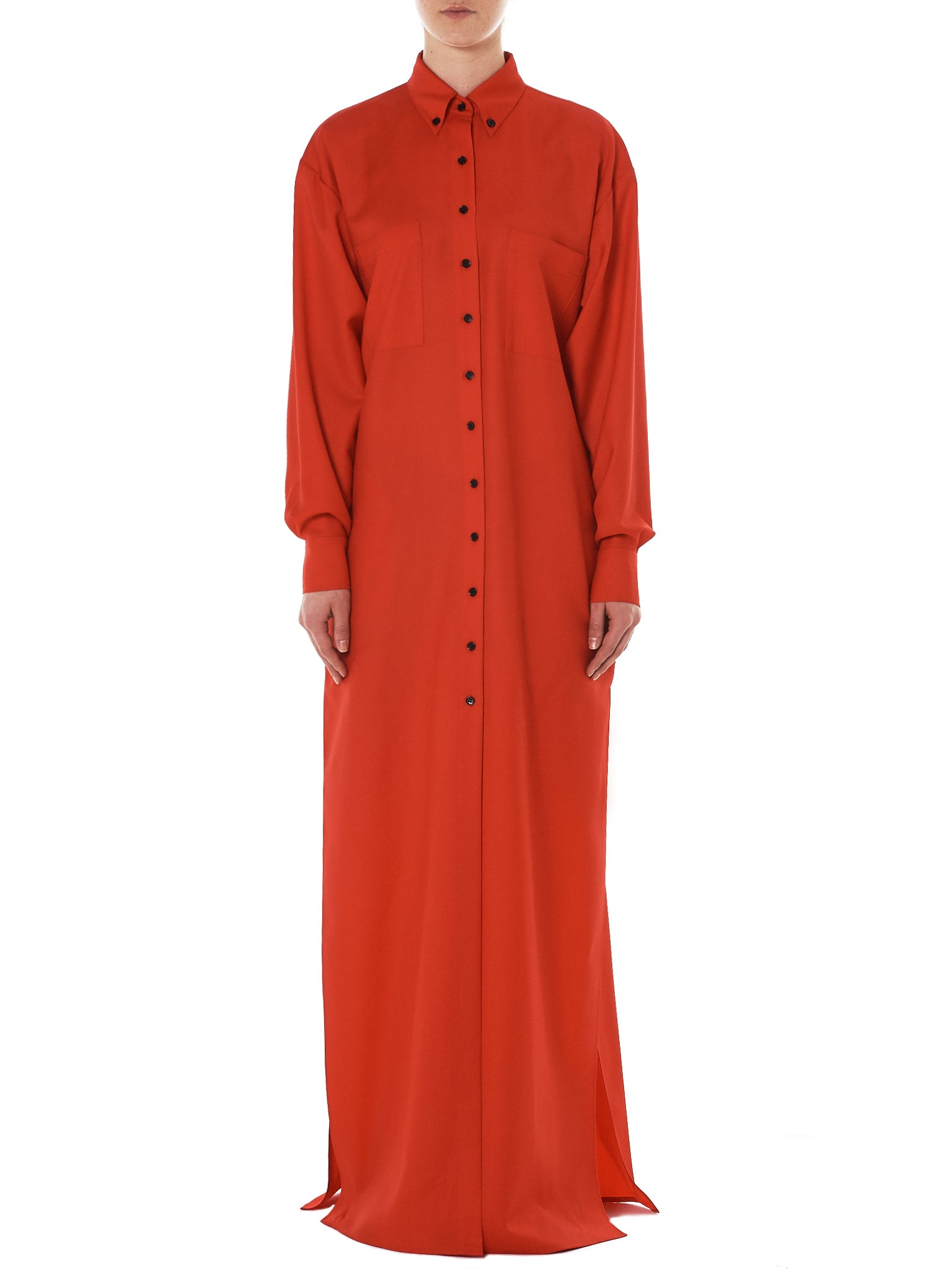 Kwaidan Shirt Dress - Hlorenzo Front