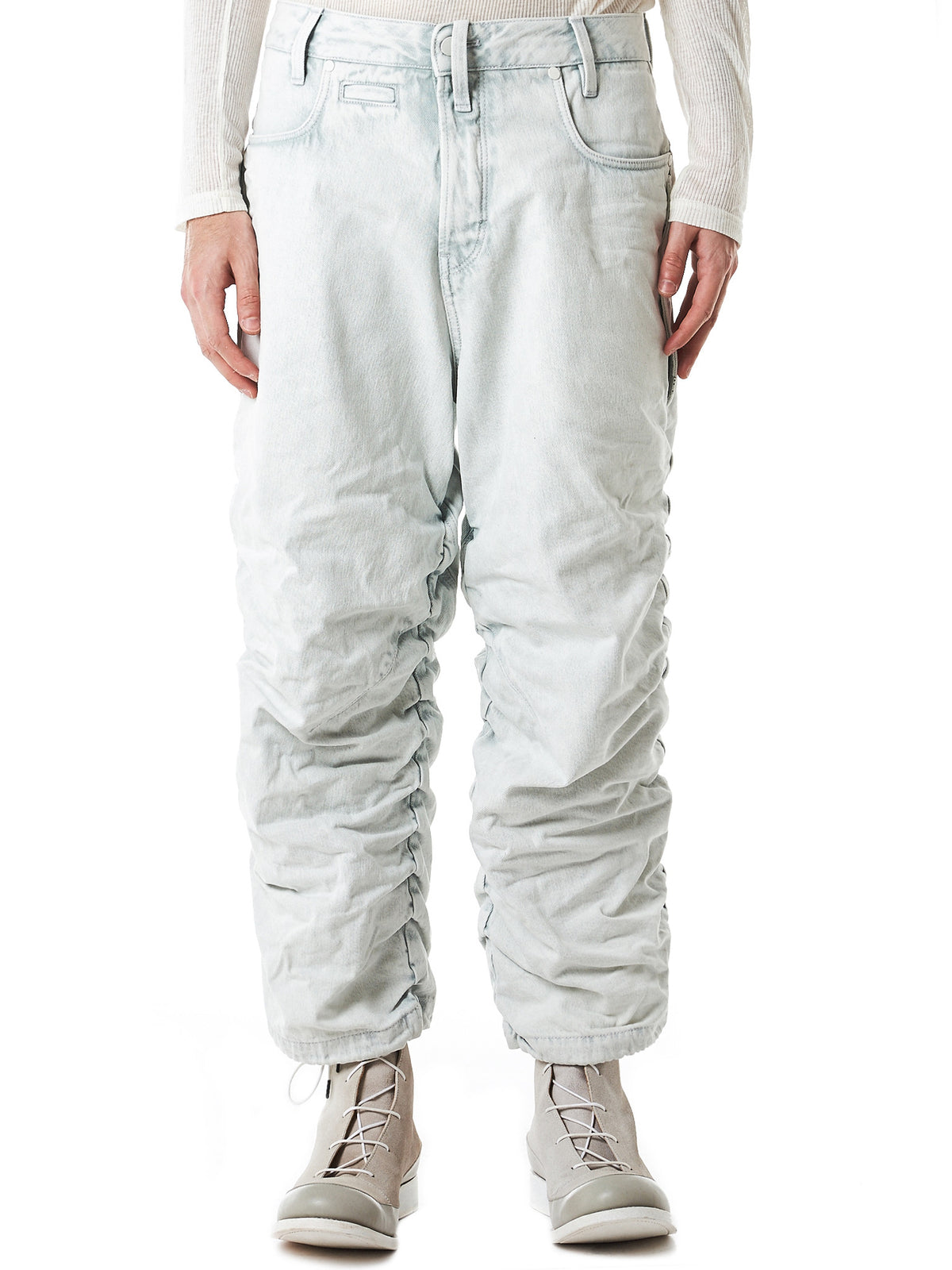 Tapered Parachute Denim Jeans (D05315-9112-8027)