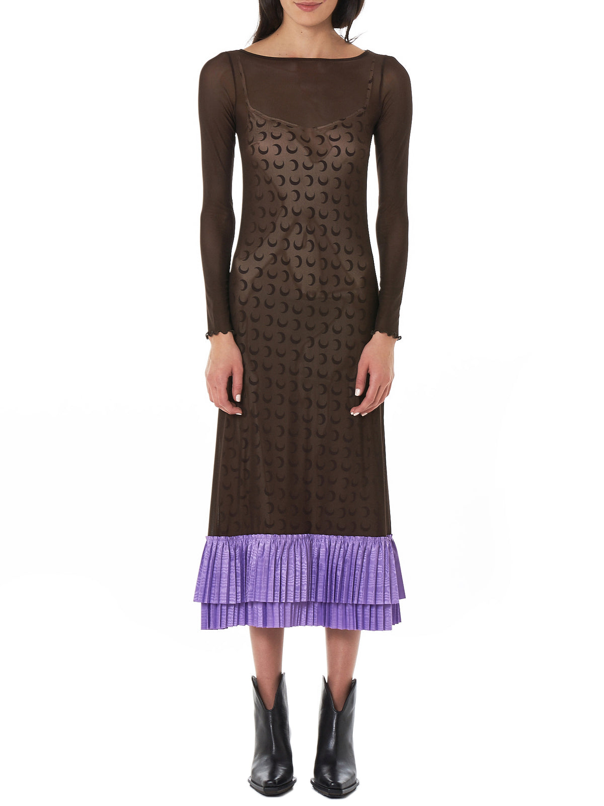 Marine Serre Dress - Hlorenzo Front