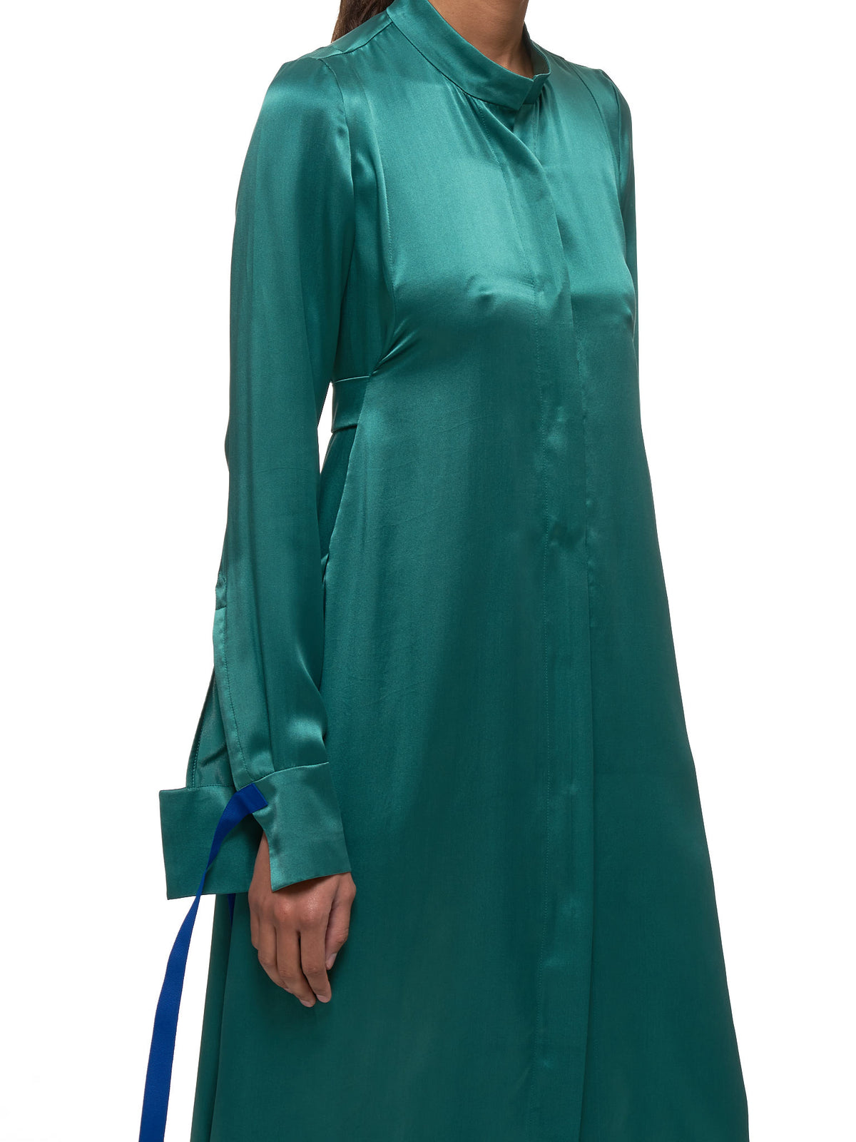 Silk Dress (D13-EMERALD)