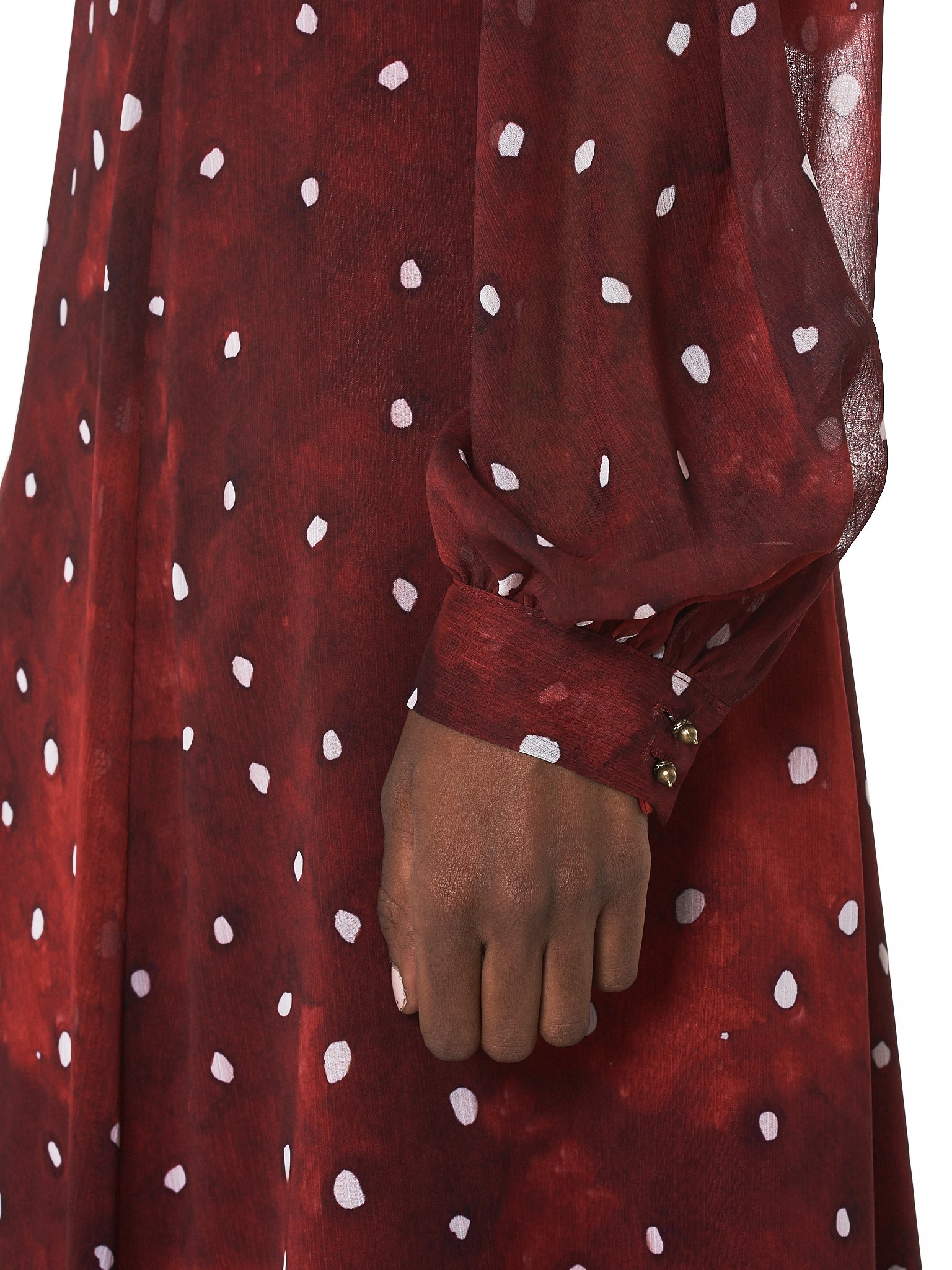 Polkadot Dress (D1R-RED)
