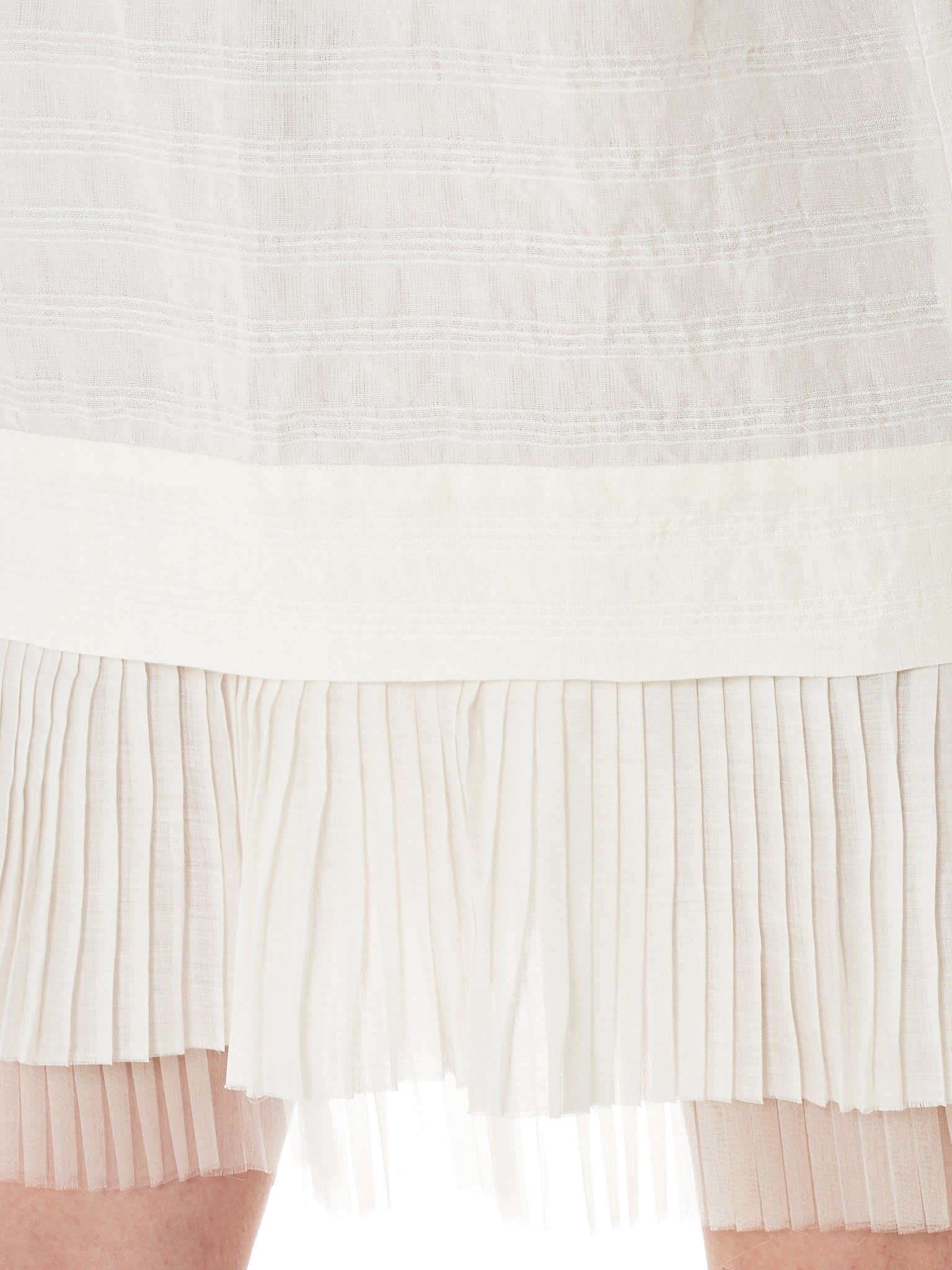 Shanshan Ruan Pleated Sweatshirt - Hlorenzo Detail 4