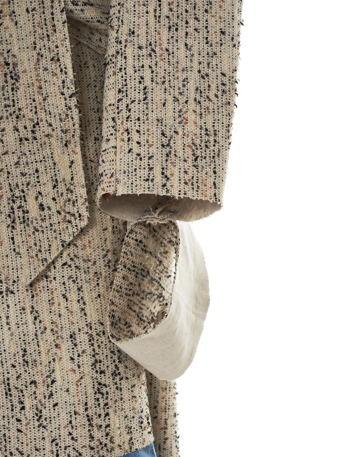 Daniel Gregory Natale Wrap Coat - Hlorenzo Detail 2
