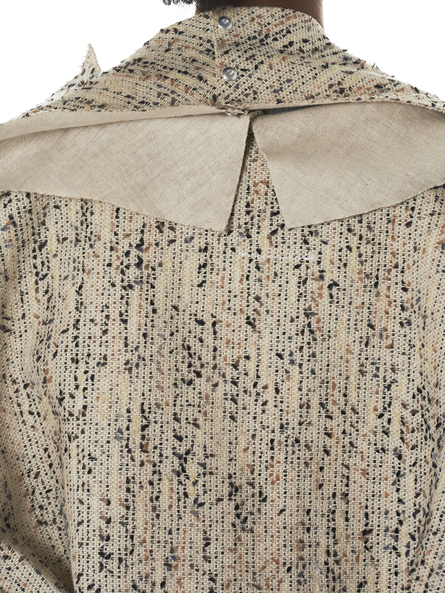 Daniel Gregory Natale Wrap Coat - Hlorenzo Detail 4