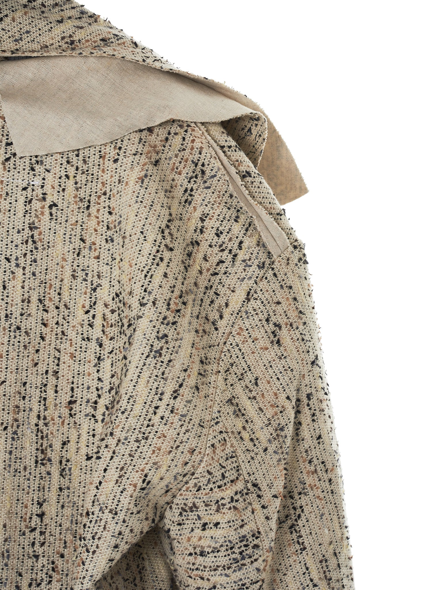 Daniel Gregory Natale Wrap Coat - Hlorenzo Detail 5