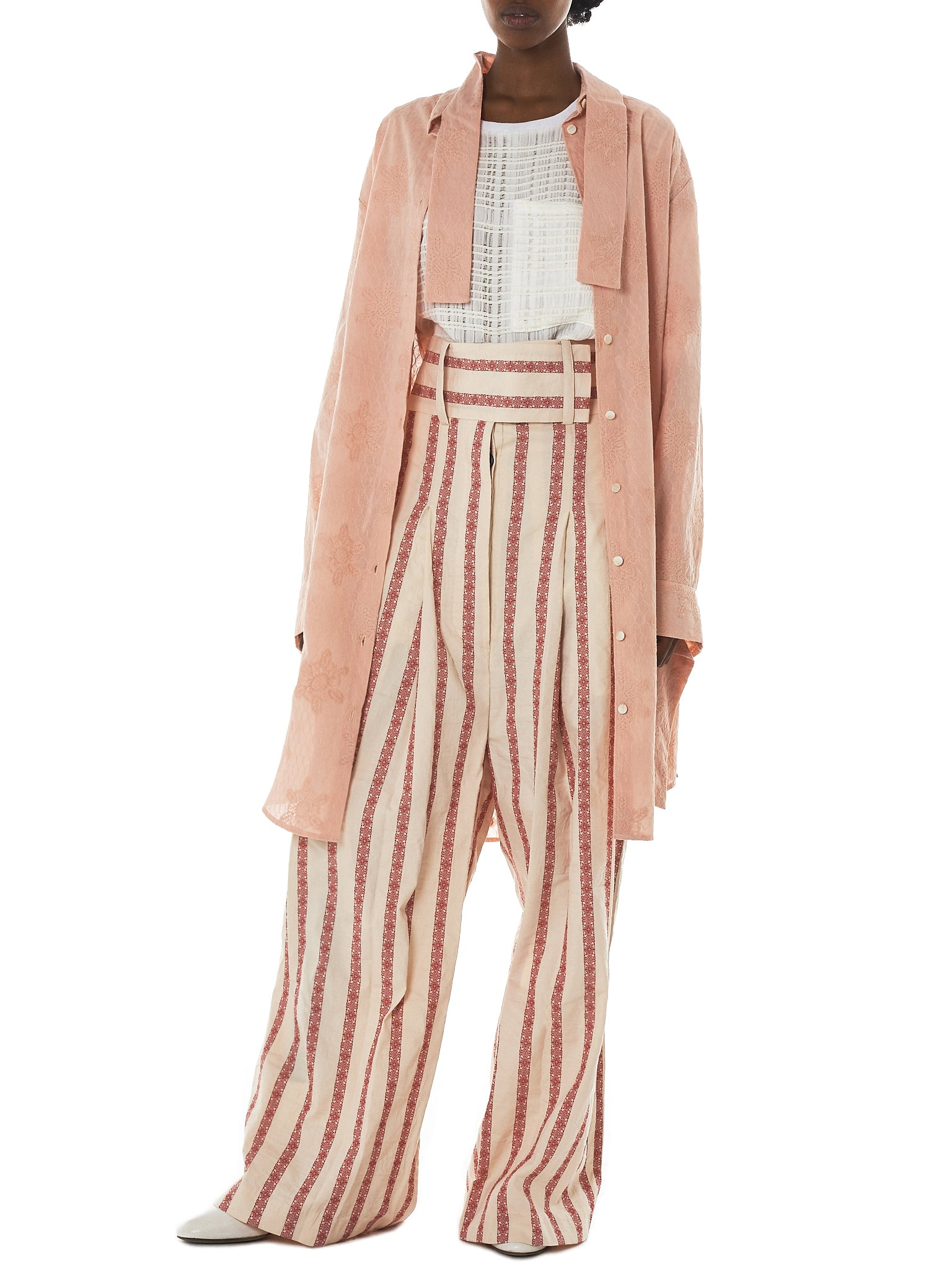 Daniel Gregory Natale Striped Trousers - Hlorenzo Style