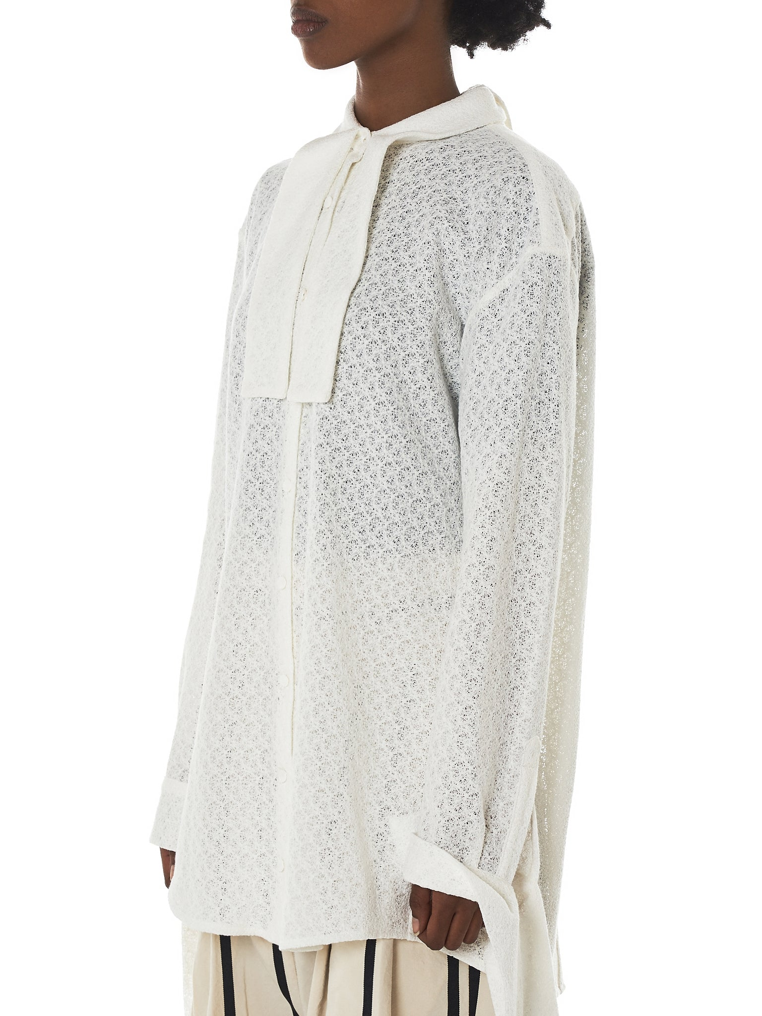 Daniel Gregory Natale Blouse - Hlorenzo Side
