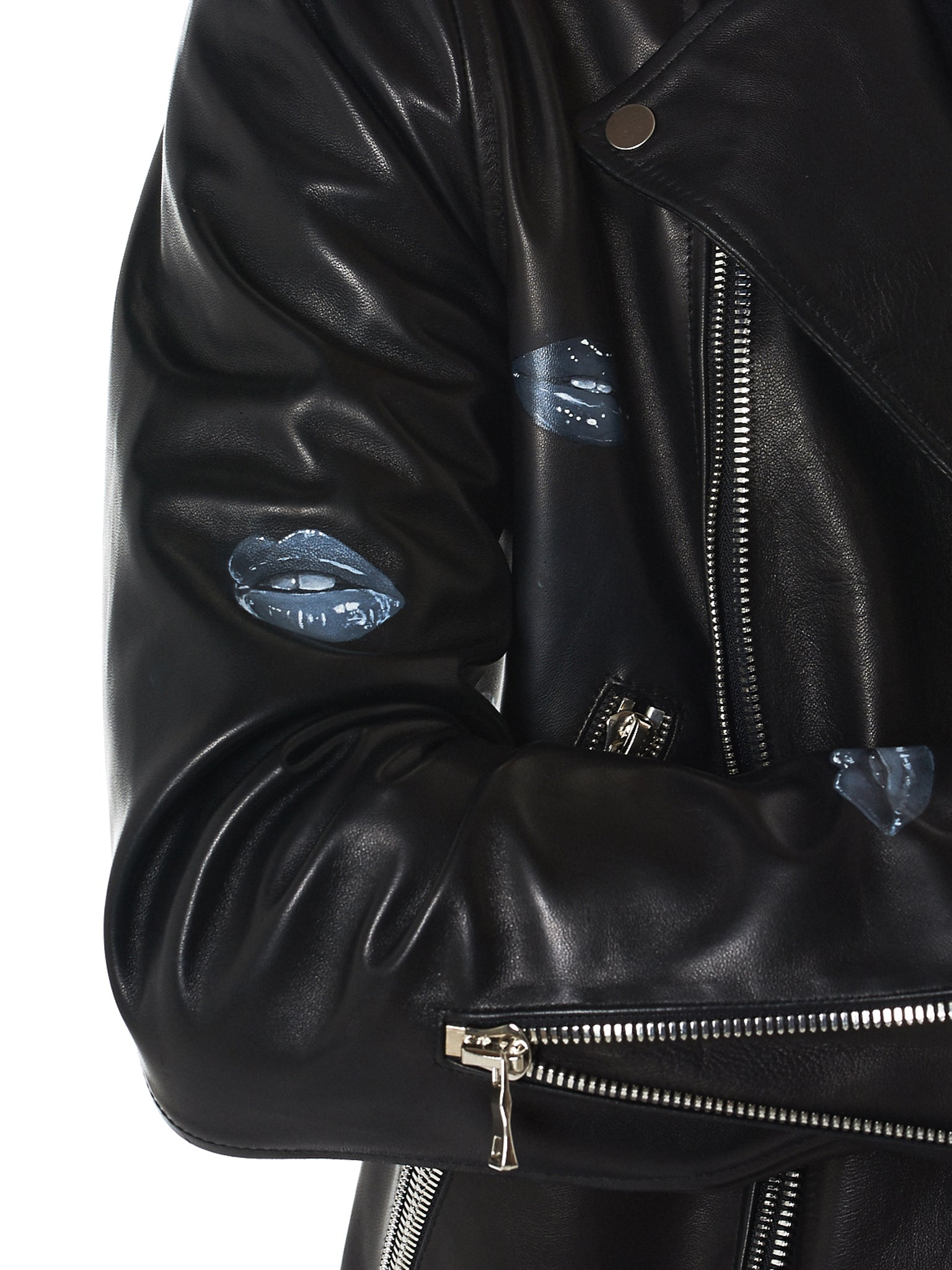 Nahmias Biker Jacket - Hlorenzo Detail 3
