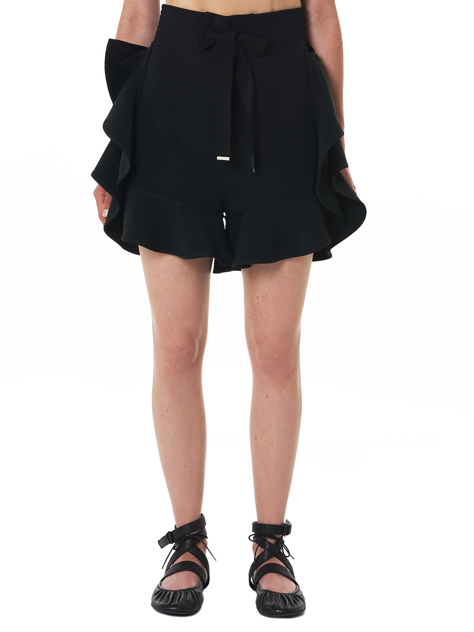 David Koma Shorts - Hlorenzo Front