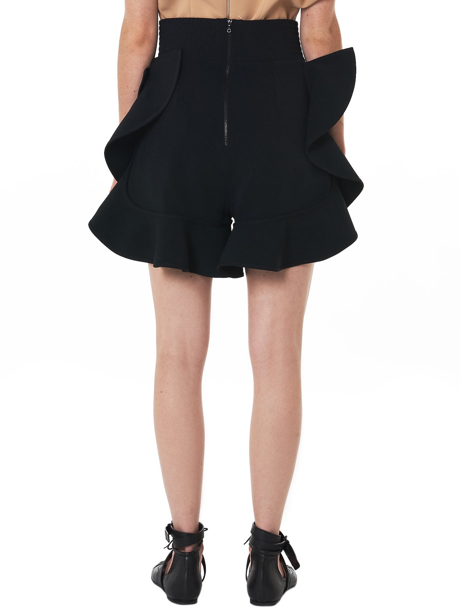 David Koma Shorts - Hlorenzo Back