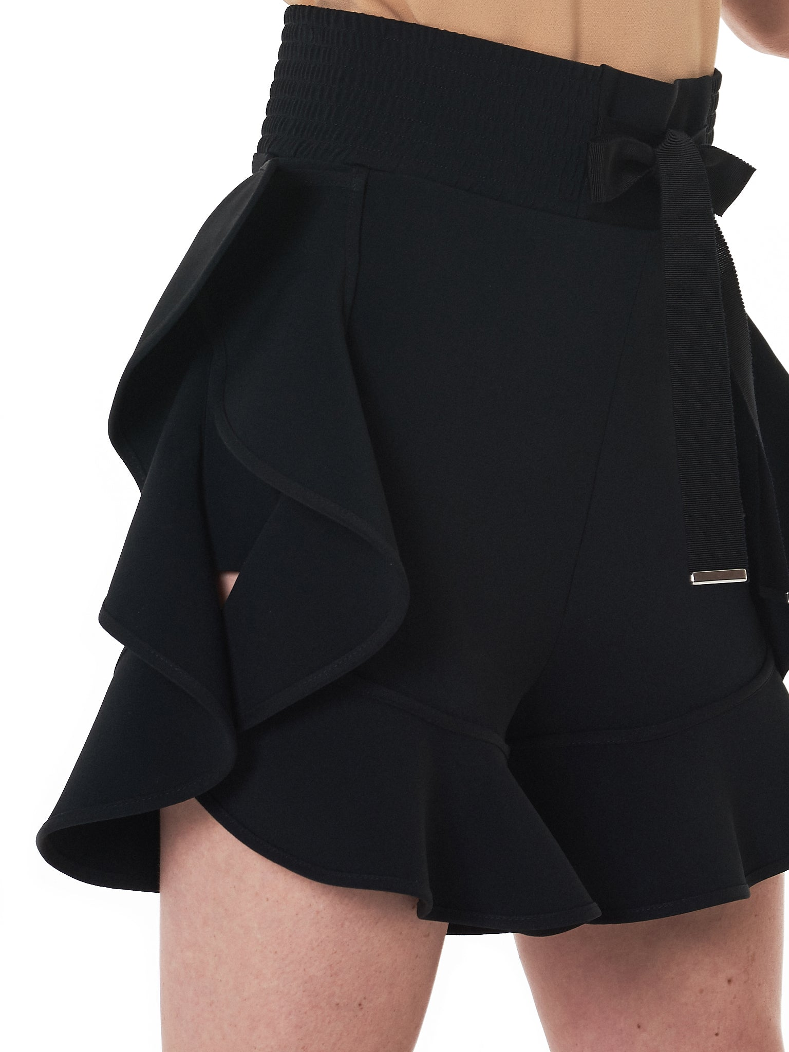 David Koma Shorts - Hlorenzo Detail 1