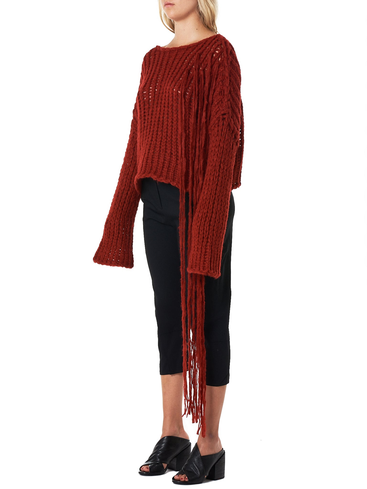 Isabel Benenato Sweater - Hlorenzo Side