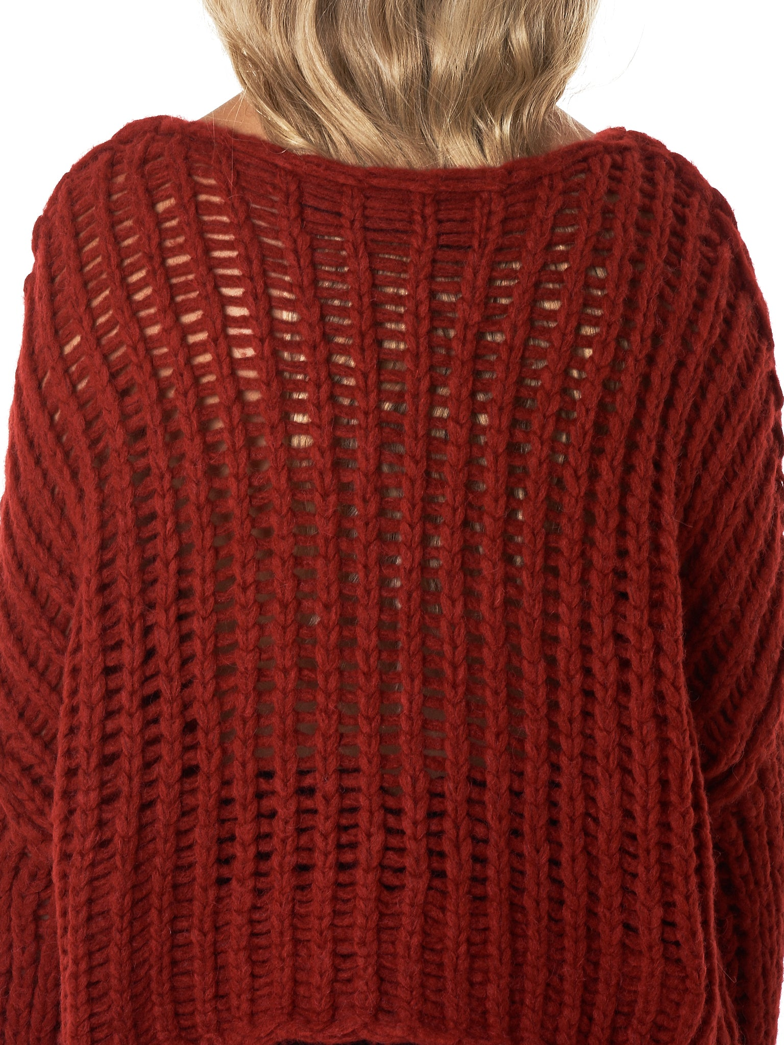 Isabel Benenato Sweater - Hlorenzo Detail 3