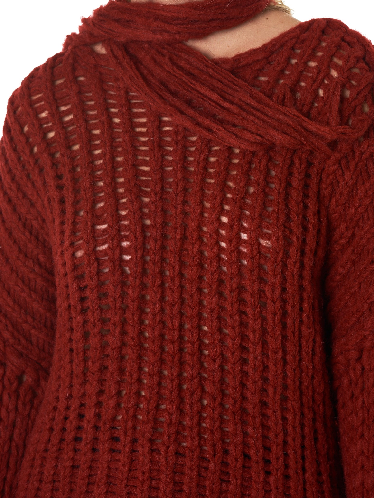 Isabel Benenato Sweater - Hlorenzo Detail 2