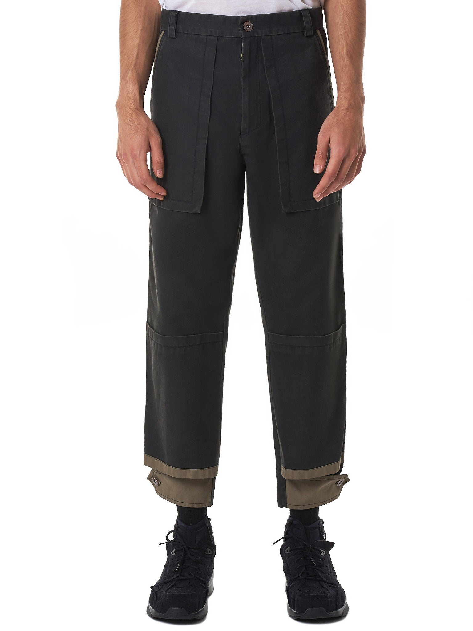 Delada Trousers - Hlorenzo Front