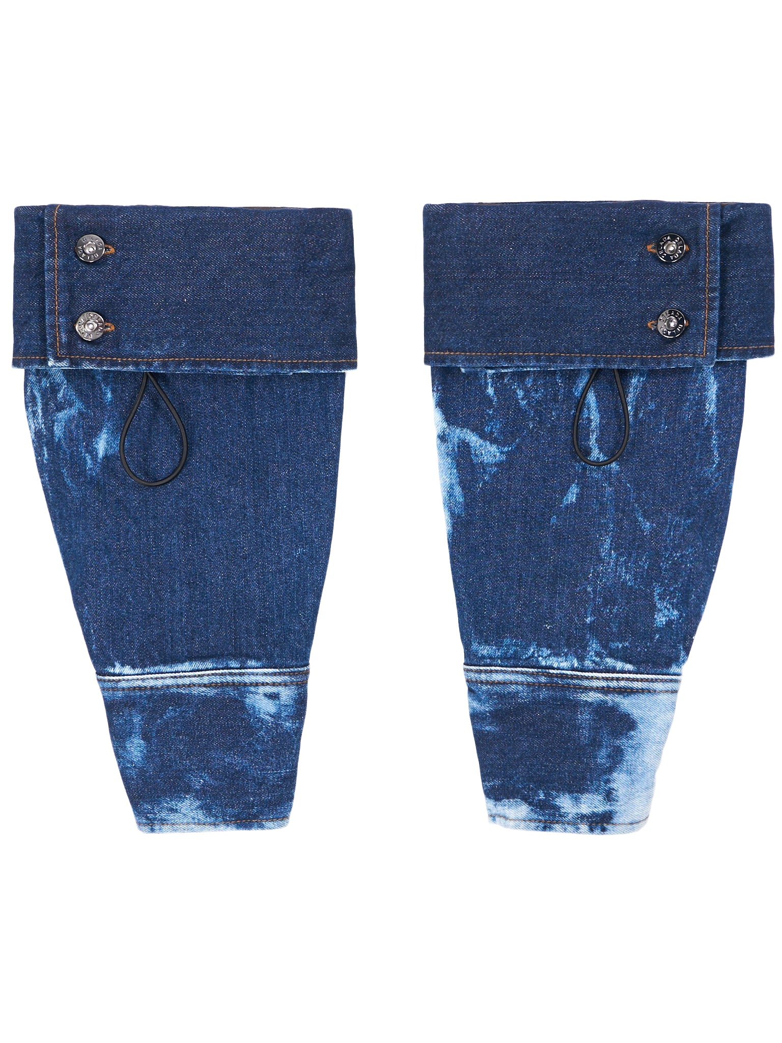 Bleached Denim Sleeves (DM6ACC1-TIE-DYE-DENIM)