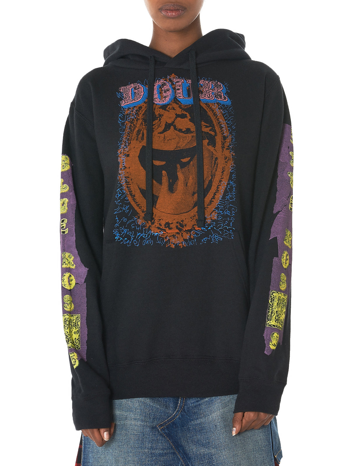 Copy of 'Dour' Hooded Sweater (DOUR-BLACK)