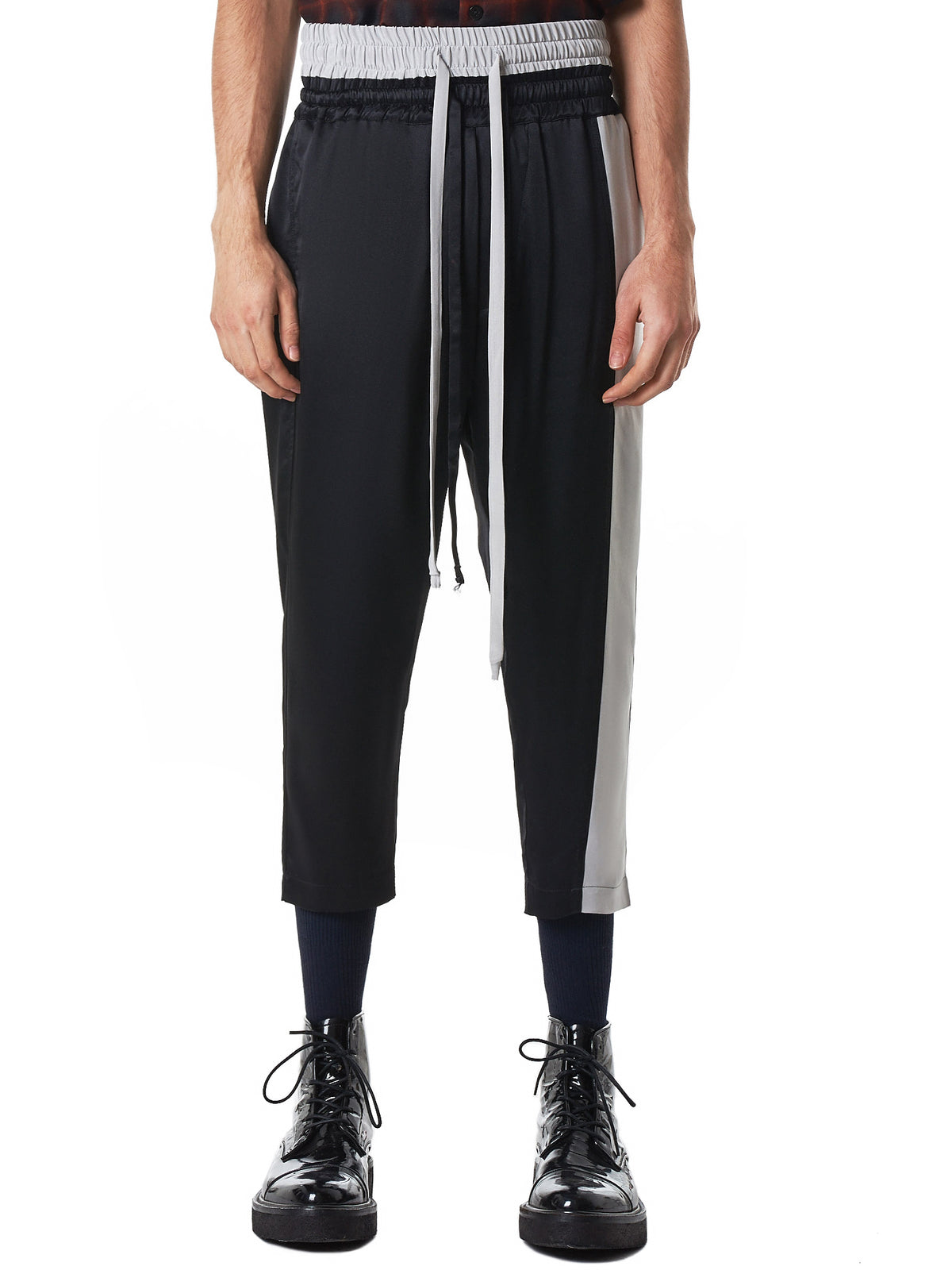 Nahmias Cropped Trousers - Hlorenzo Front