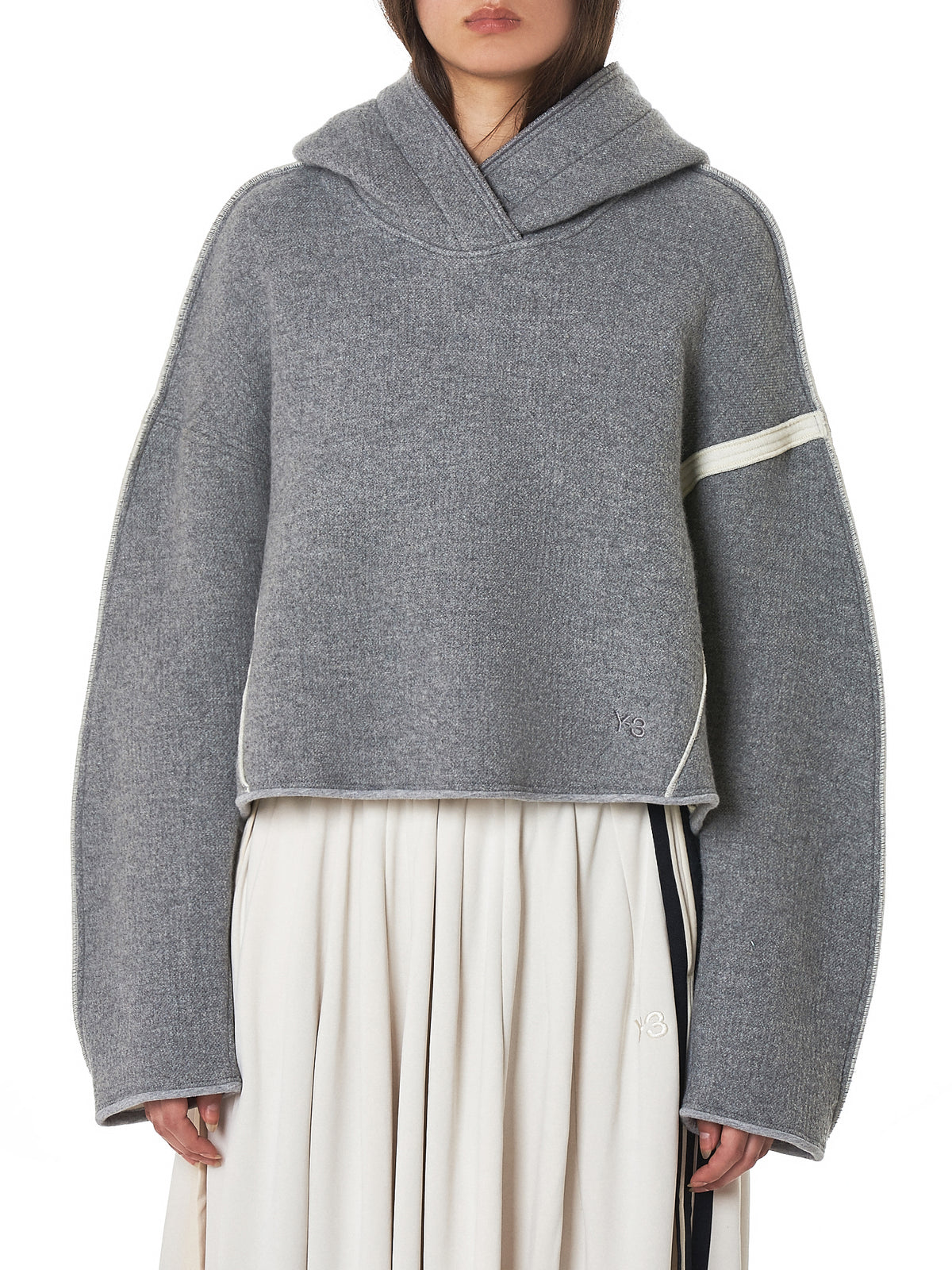 Scuba Hooded Pullover (DP0717-MGH-GREY)