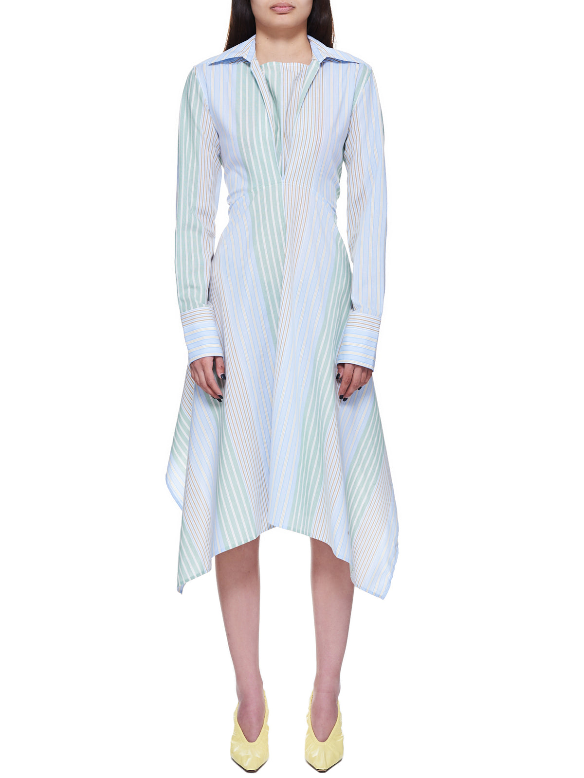 JW Anderson Shirt Dress | H.Lorenzo - front