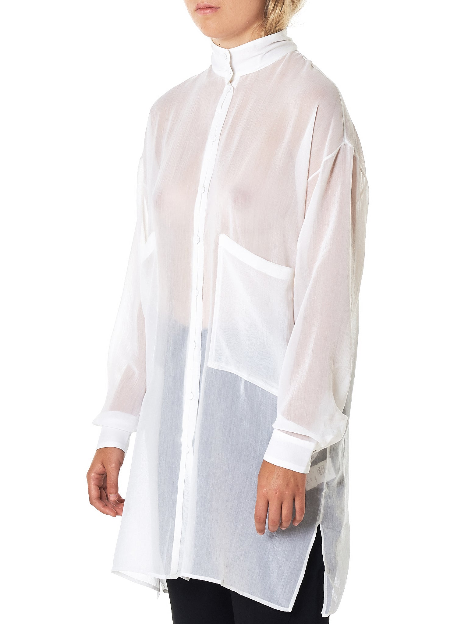 Isabel Benenato Shirt - Hlorenzo Side